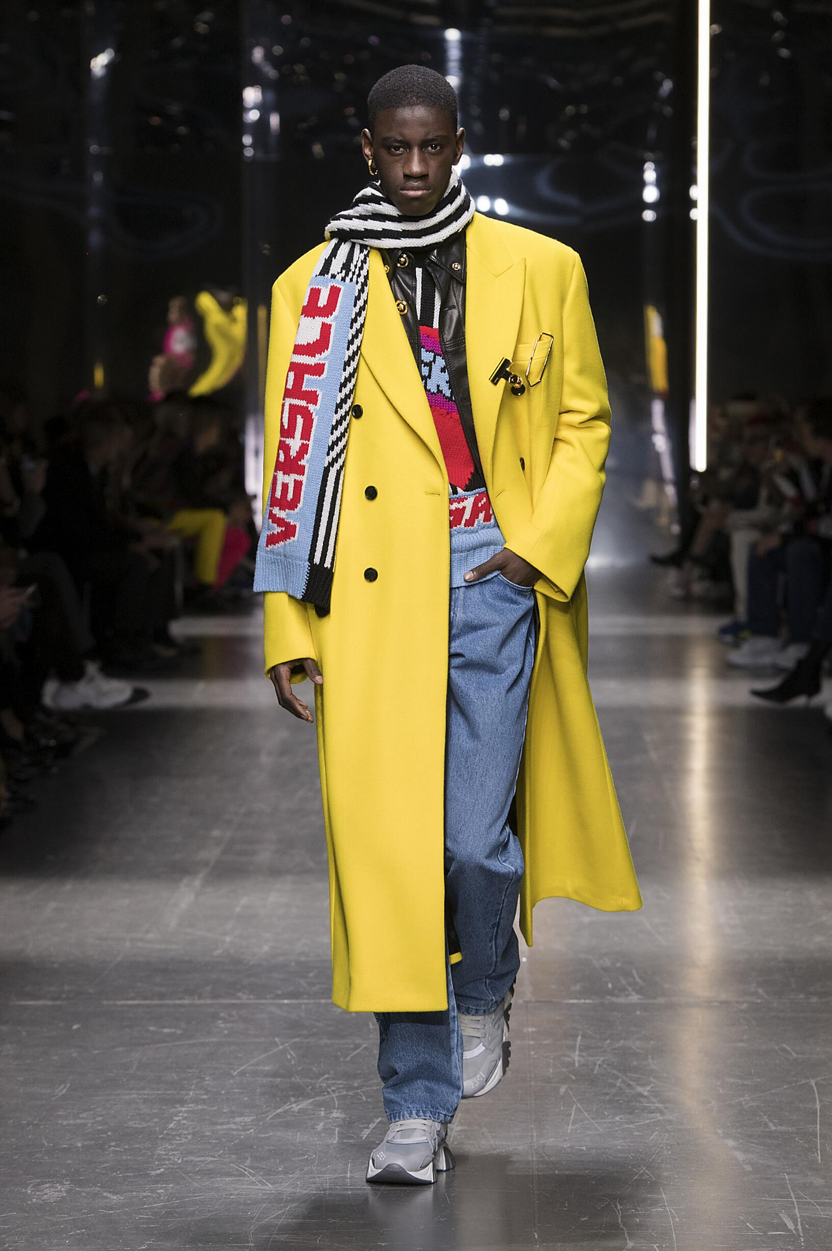 2019 Versace Fall Winter Man