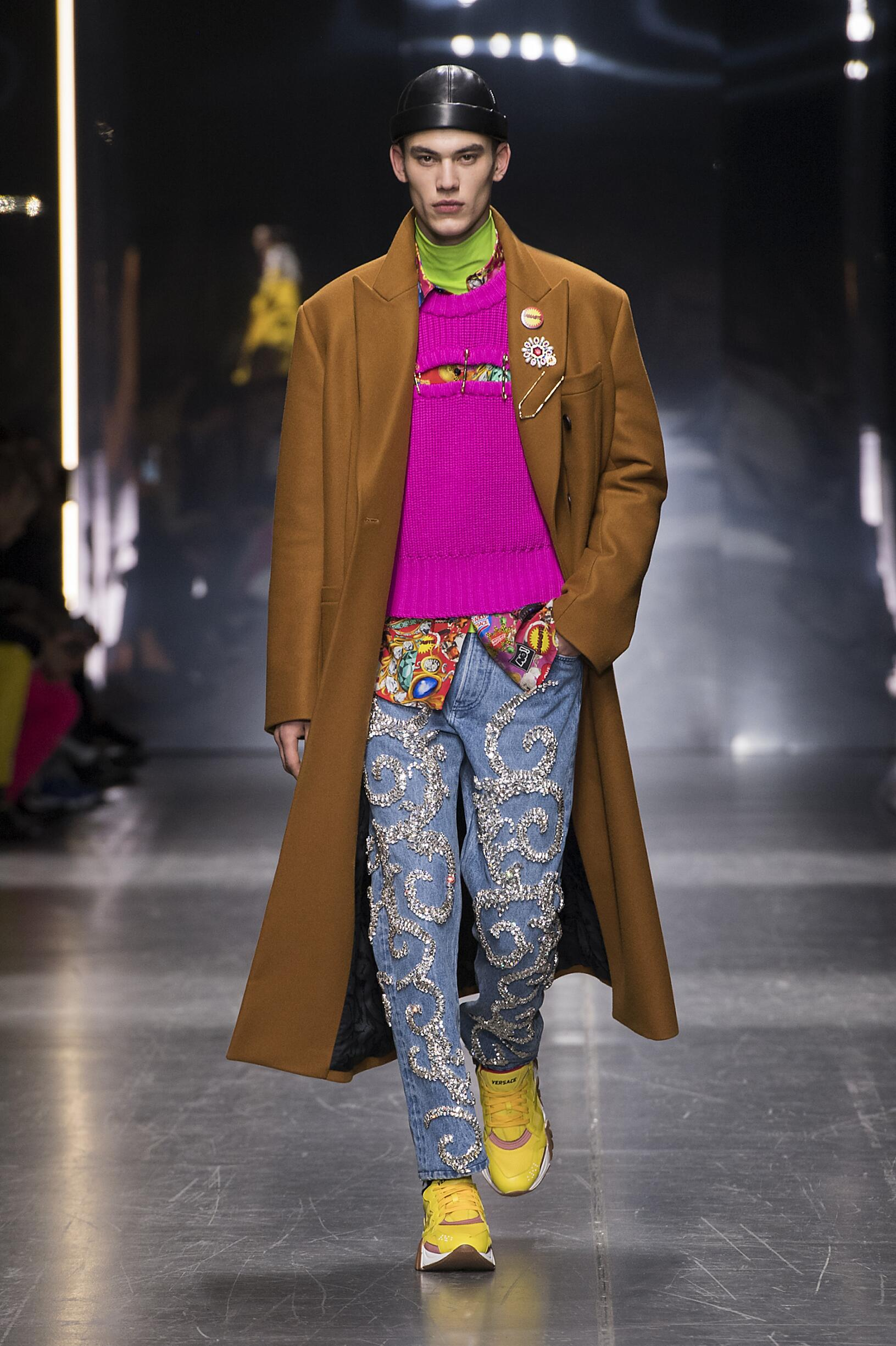 2019 Versace Winter Catwalk
