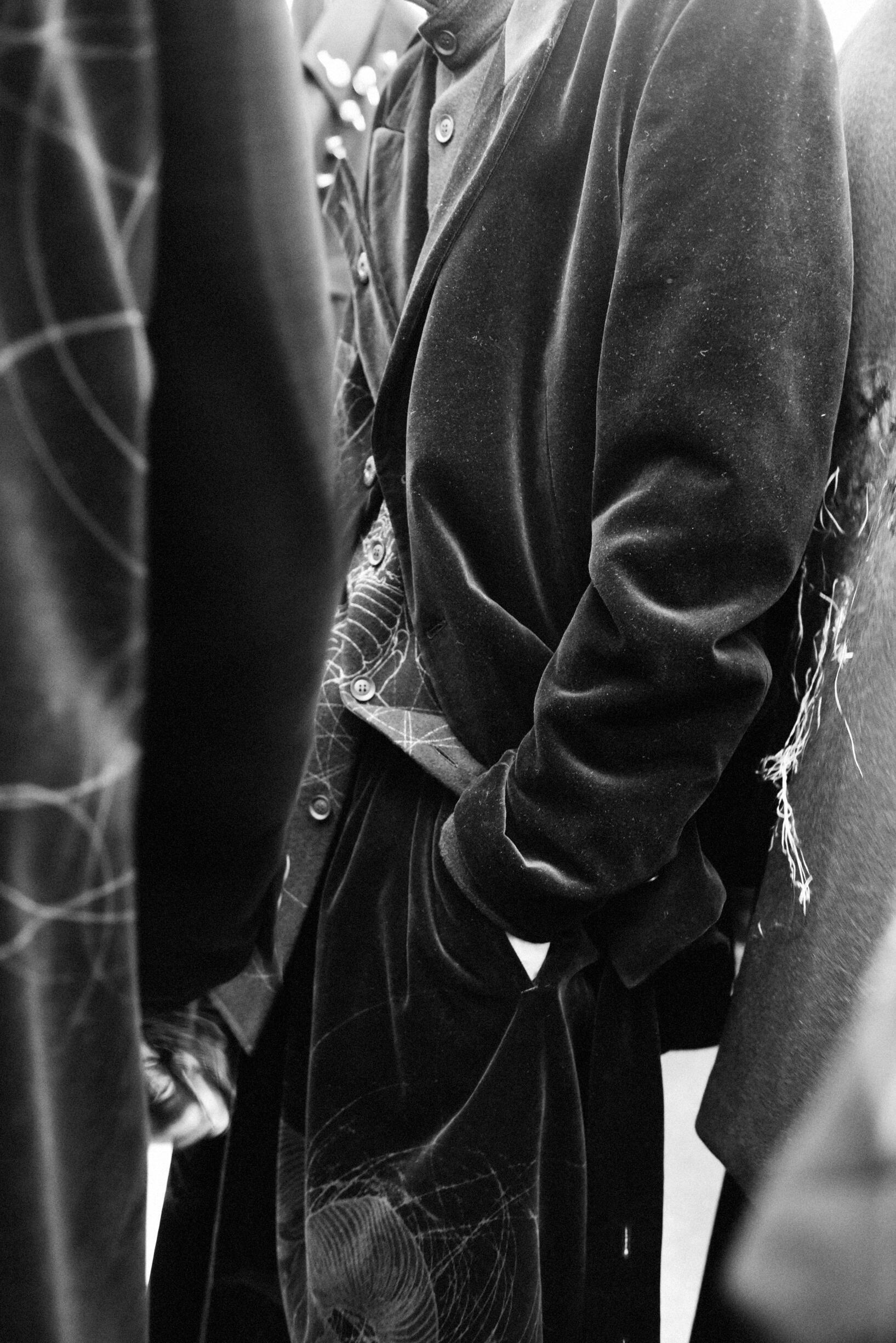 Backstage Yohji Yamamoto Detail 2019