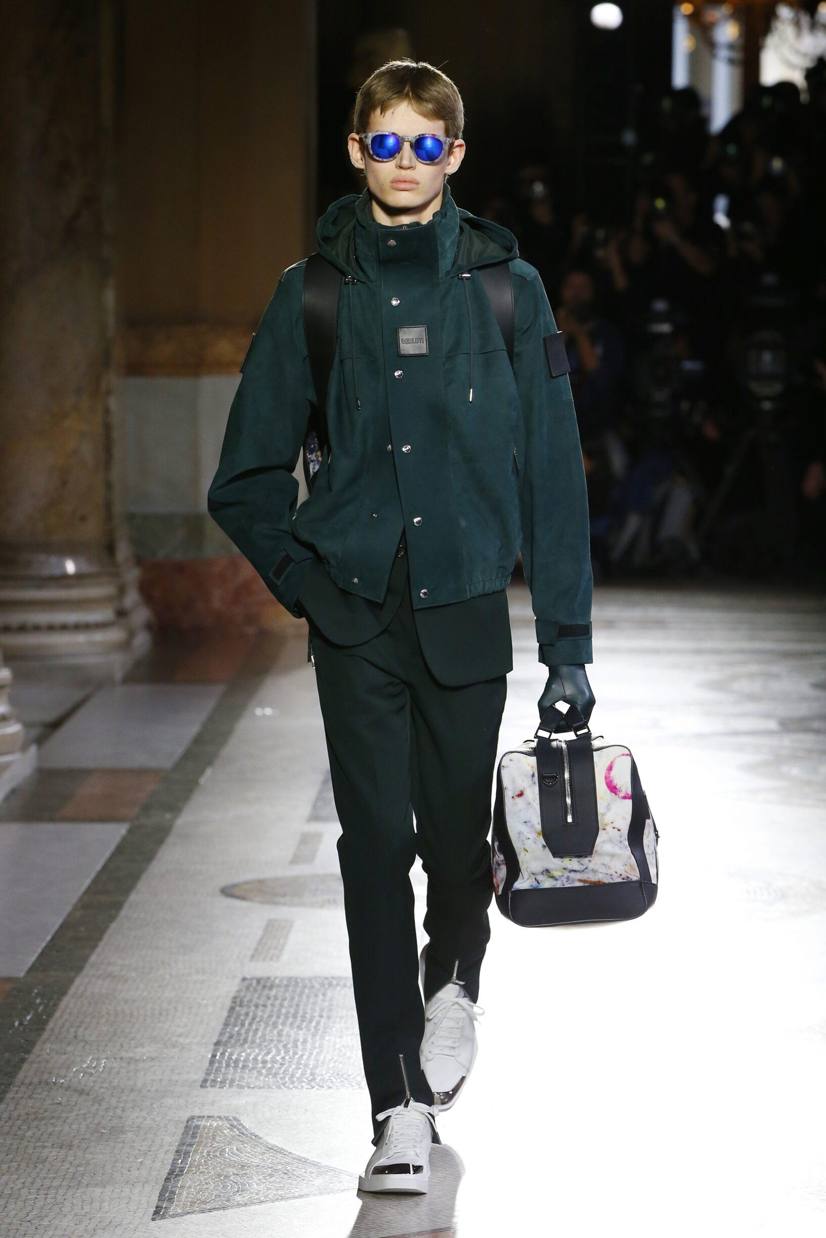Catwalk Berluti Man Fashion Show Winter 2019