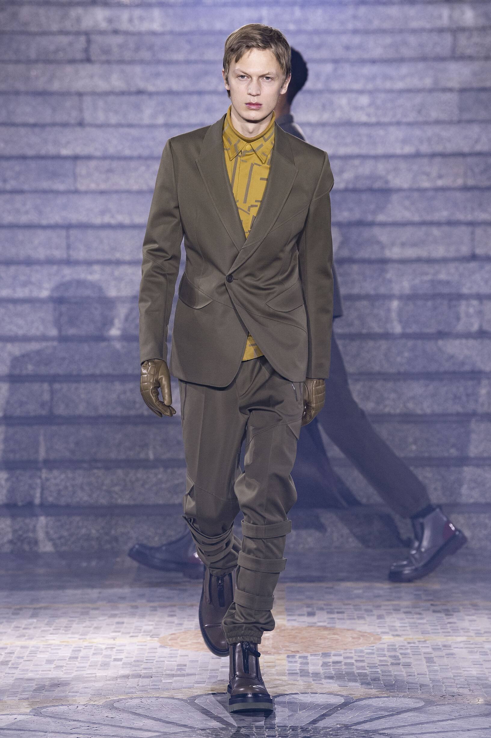 Catwalk Ermenegildo Zegna Men Fashion Show Winter 2019