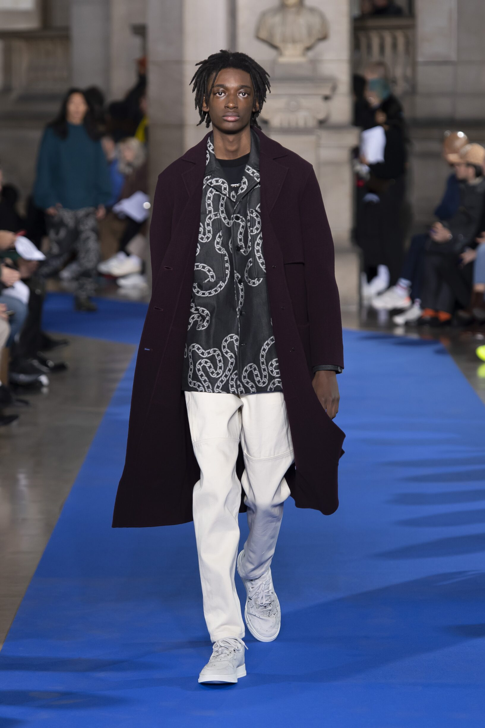 Catwalk Études Man Fashion Show Winter 2019
