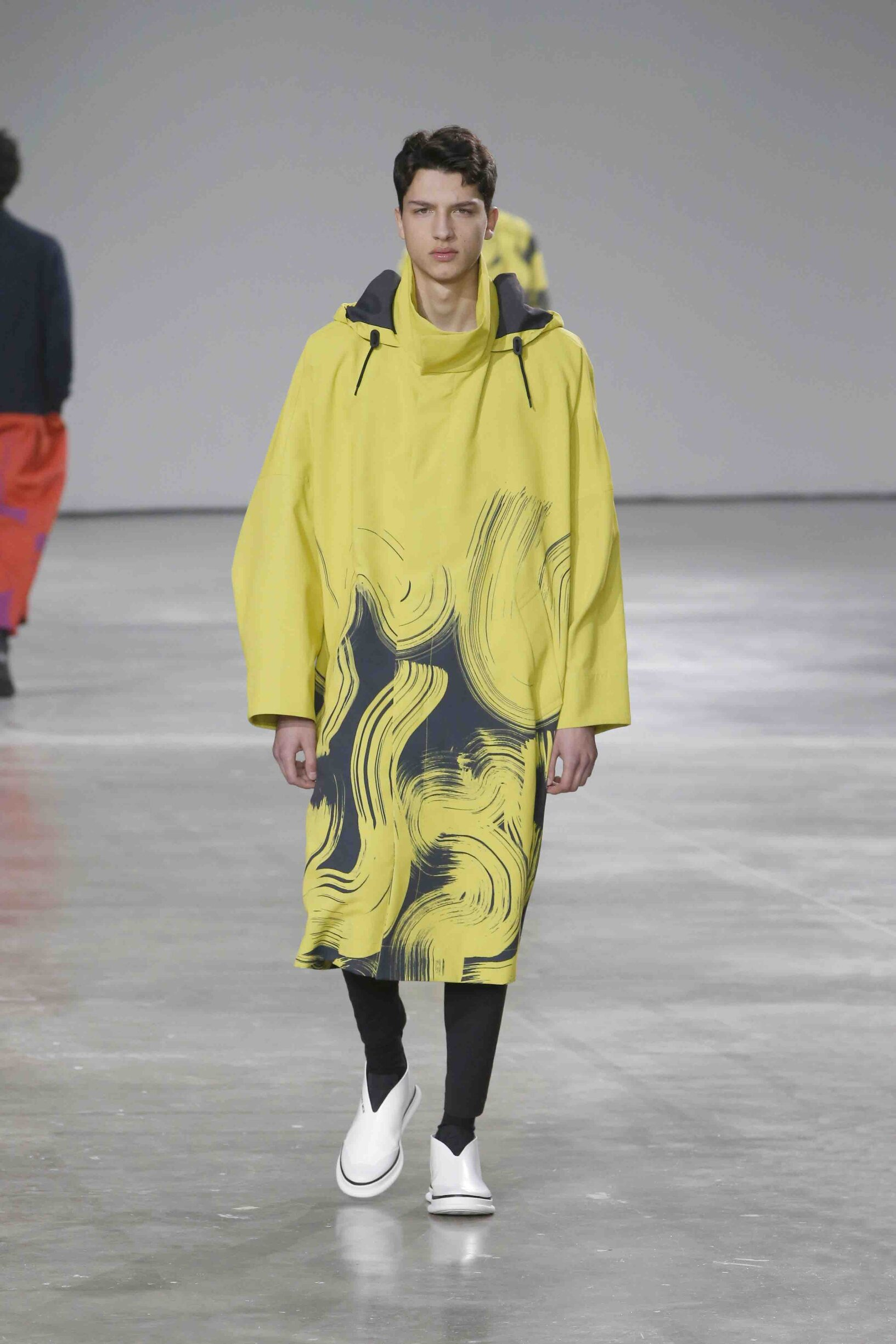 Catwalk Issey Miyake Men Fashion Show Winter 2019