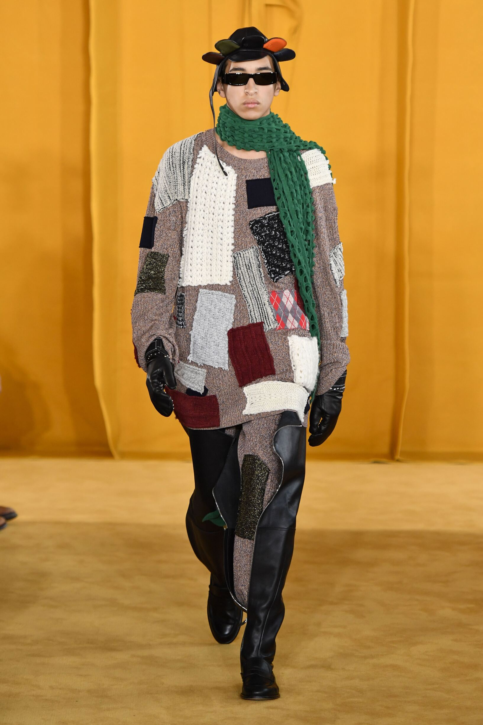 Catwalk Loewe Men Fashion Show Winter 2019