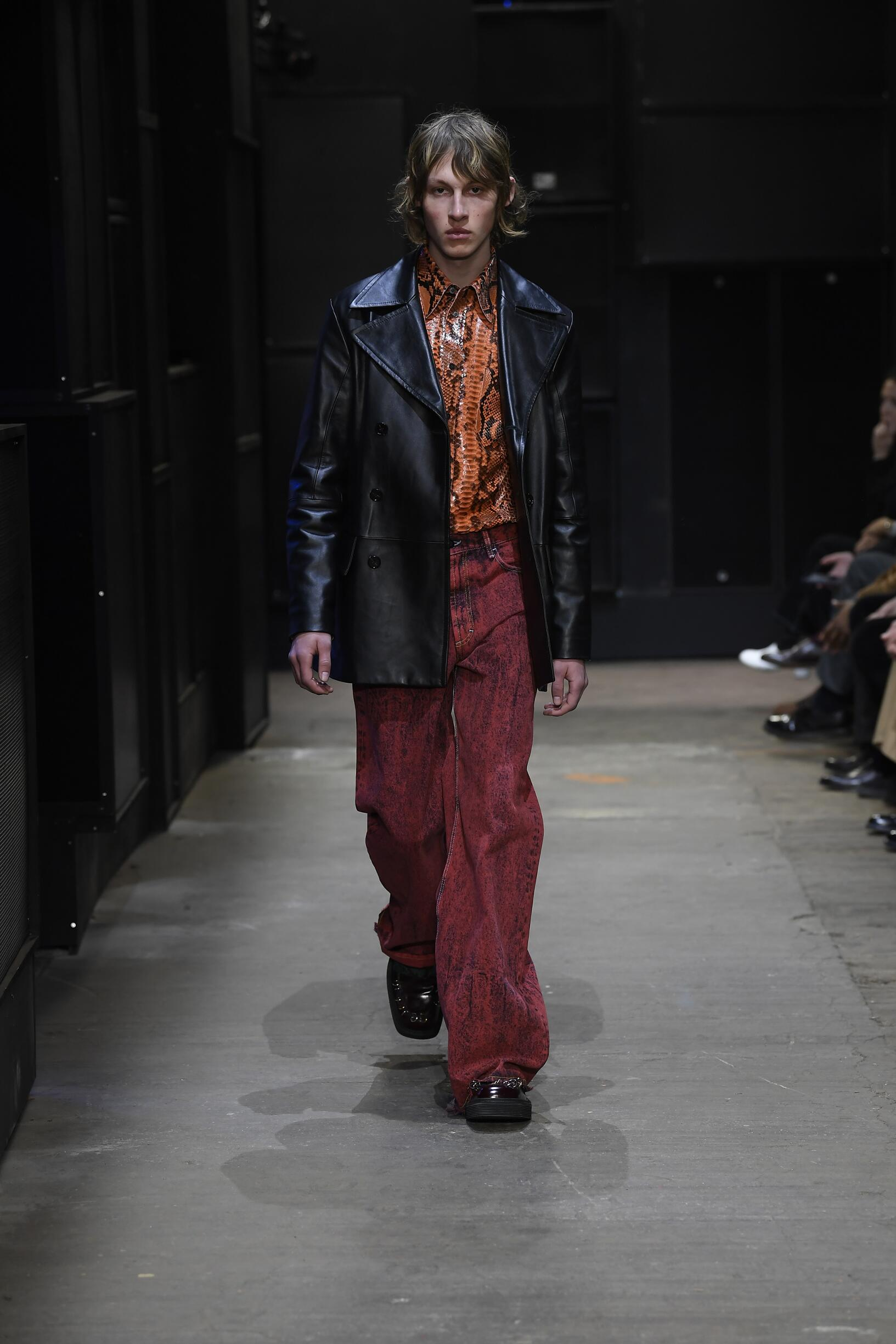 Catwalk Marni Men Fashion Show Winter 2019