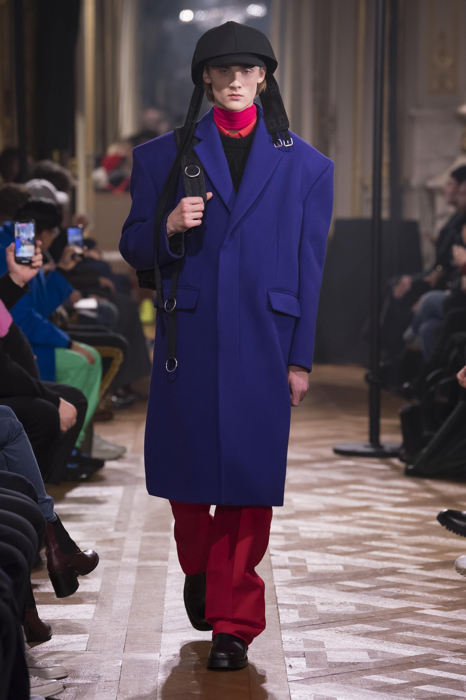 Catwalk Raf Simons Men Fashion Show Winter 2019
