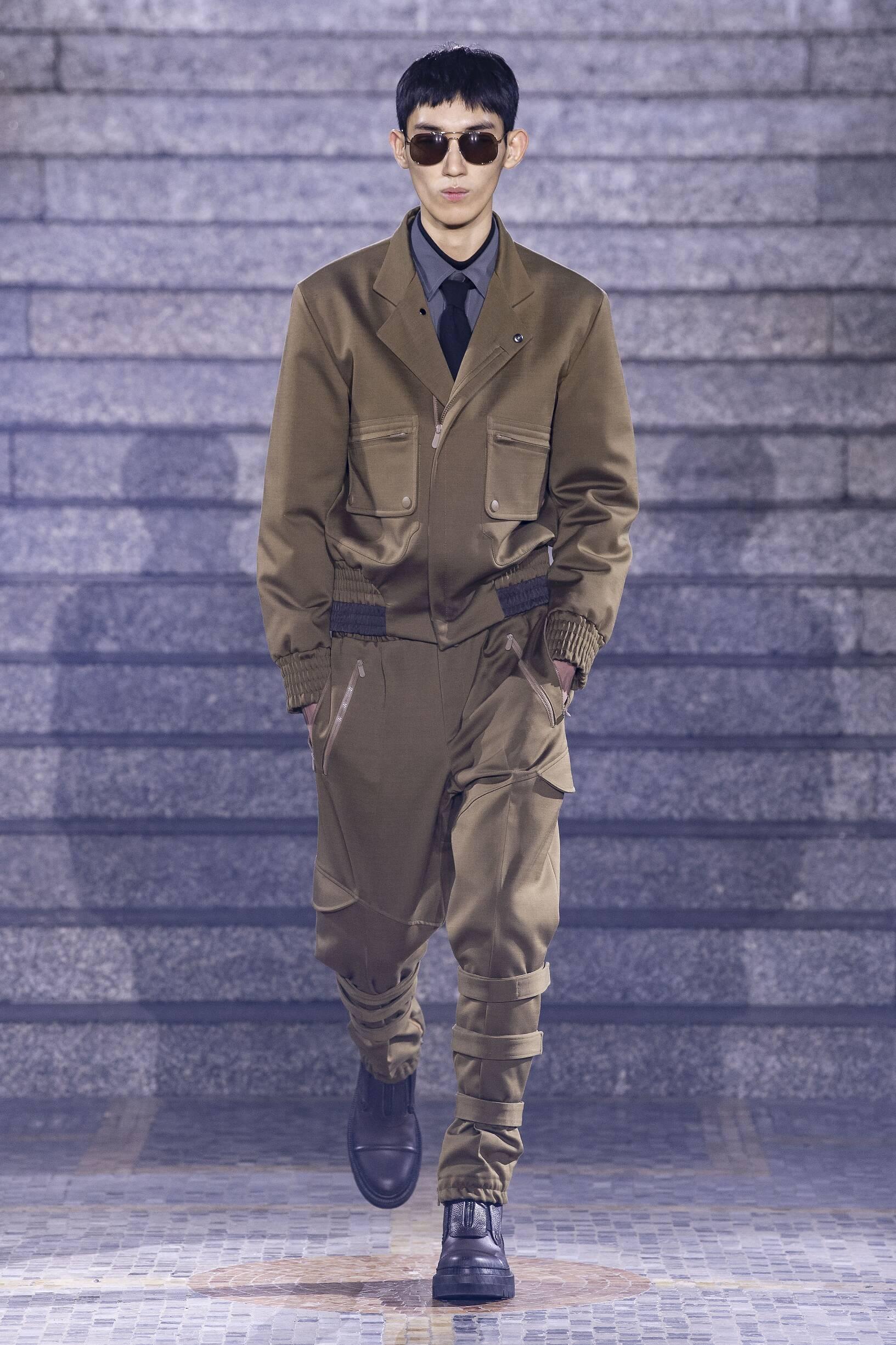 Ermenegildo Zegna Menswear Fashion Show
