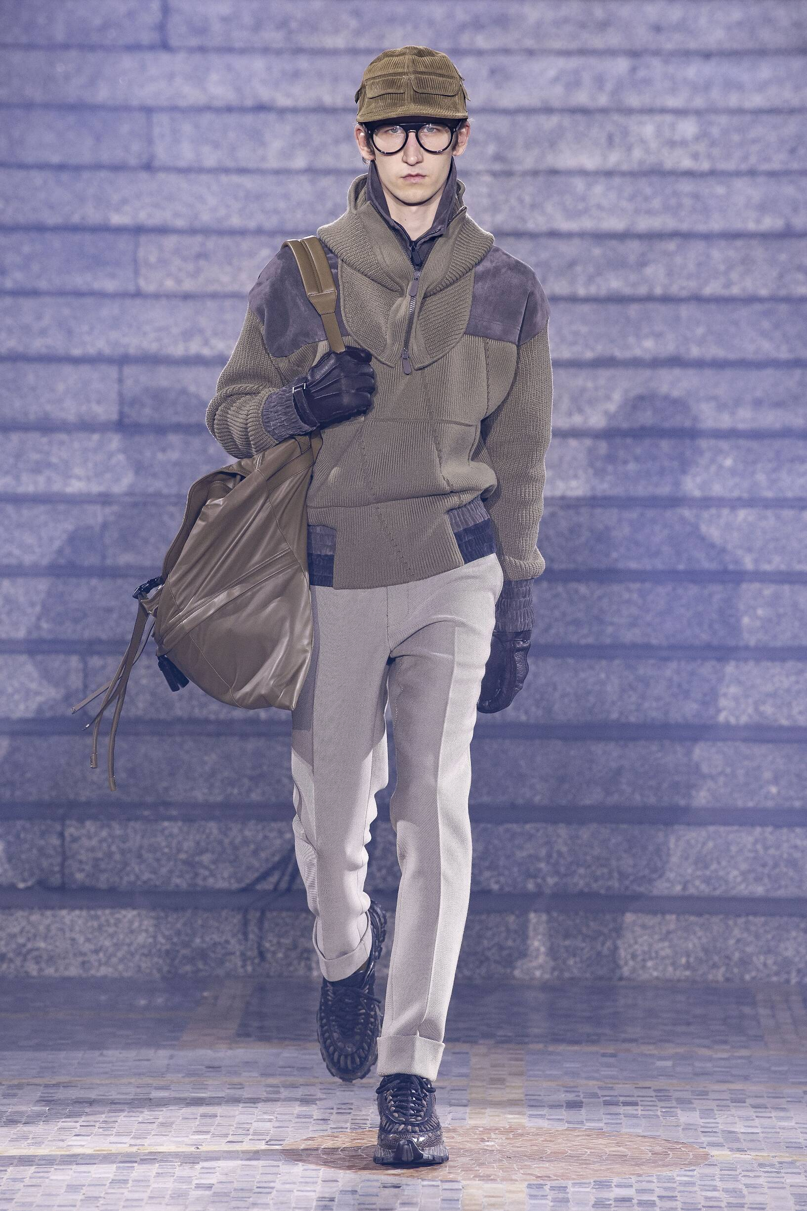 Ermenegildo Zegna Winter 2019 Catwalk