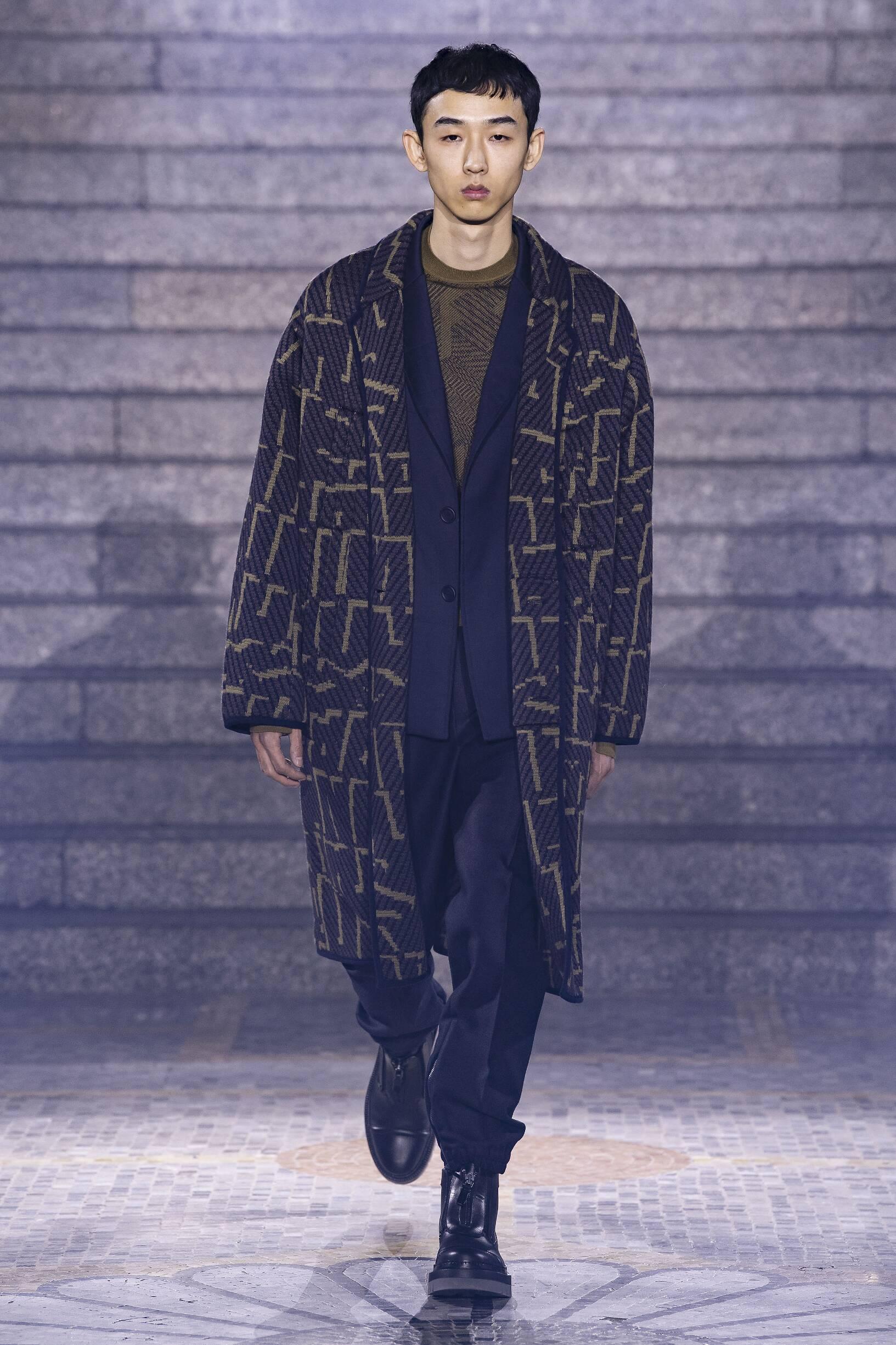 FW 2019-20 Ermenegildo Zegna Fashion Show Milan