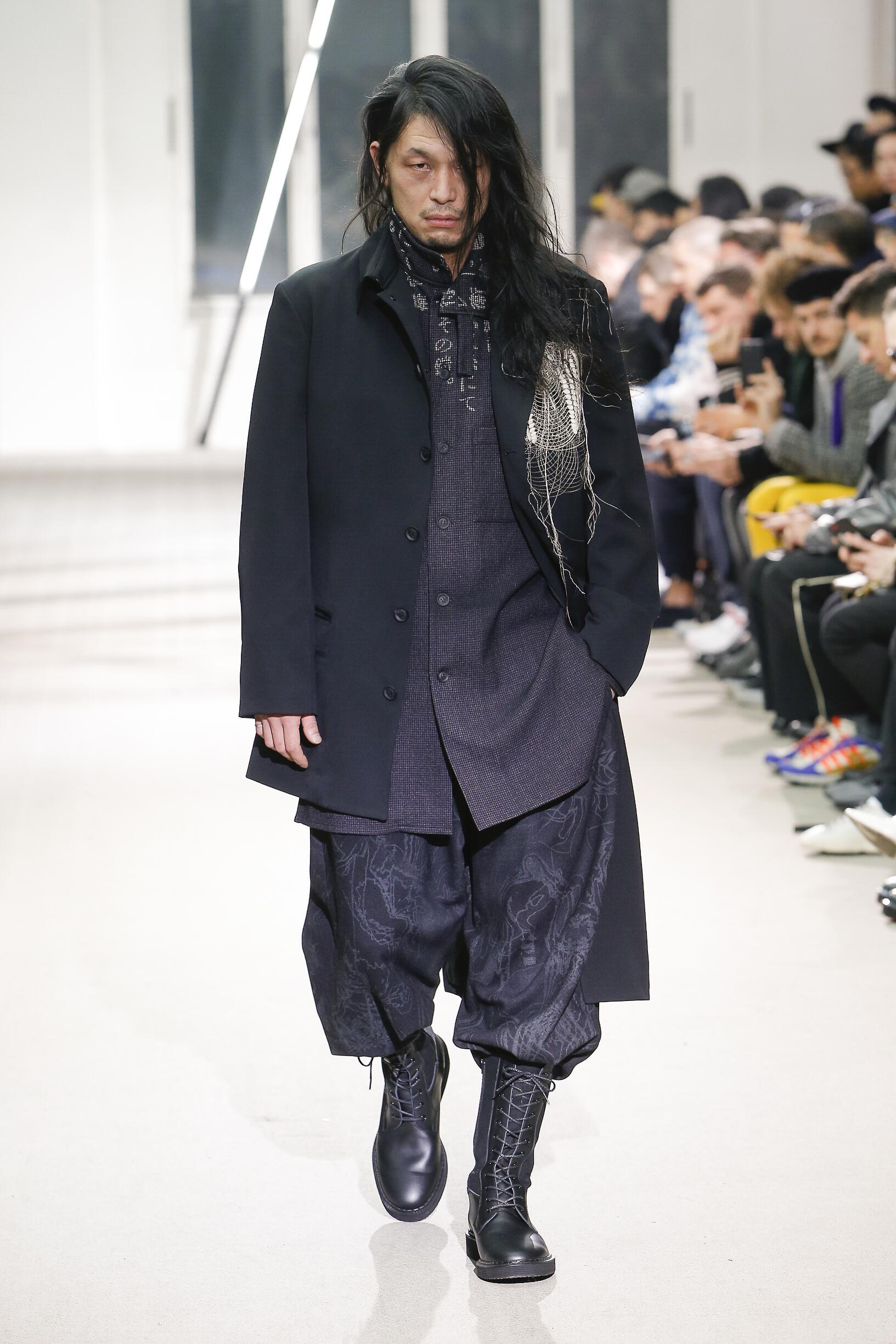 FW 2019-20 Fashion Show Yohji Yamamoto