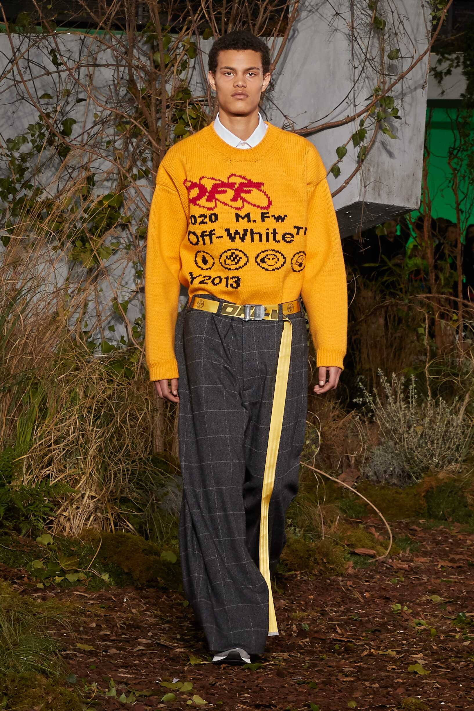 FW 2019-20 Off White c/o Virgil Abloh Fashion Show Paris