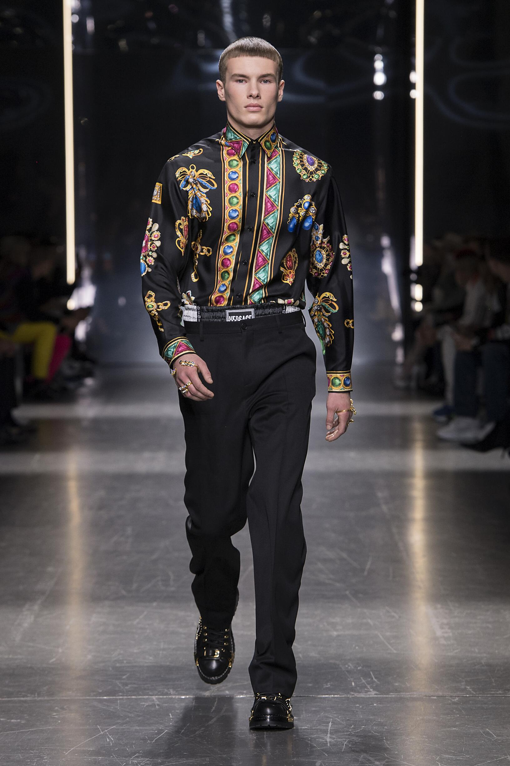 FW 2019-20 Versace Fashion Show Milan Fashion Week