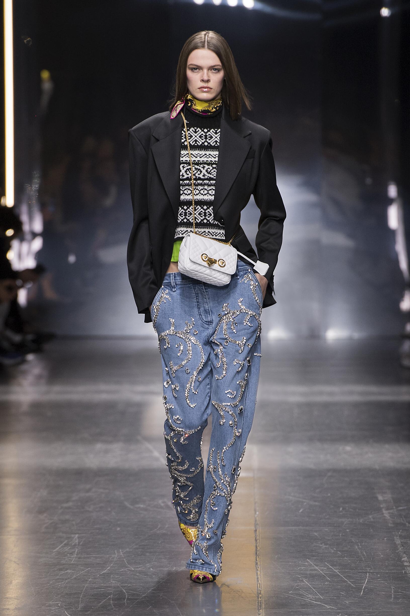 FW 2019-20 Versace Fashion Show Milan