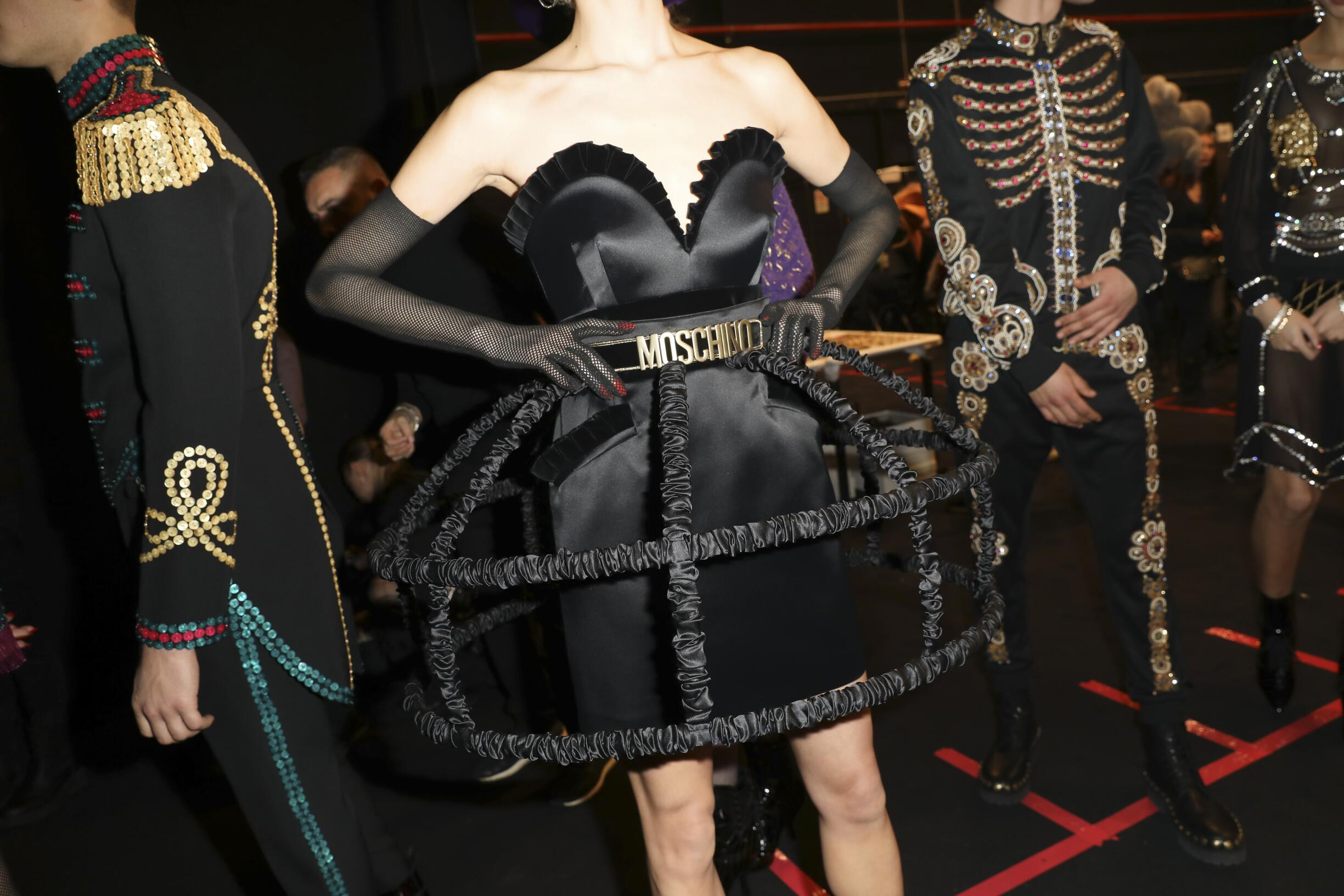 FW 2019 Pre-Collection Backstage Moschino Models