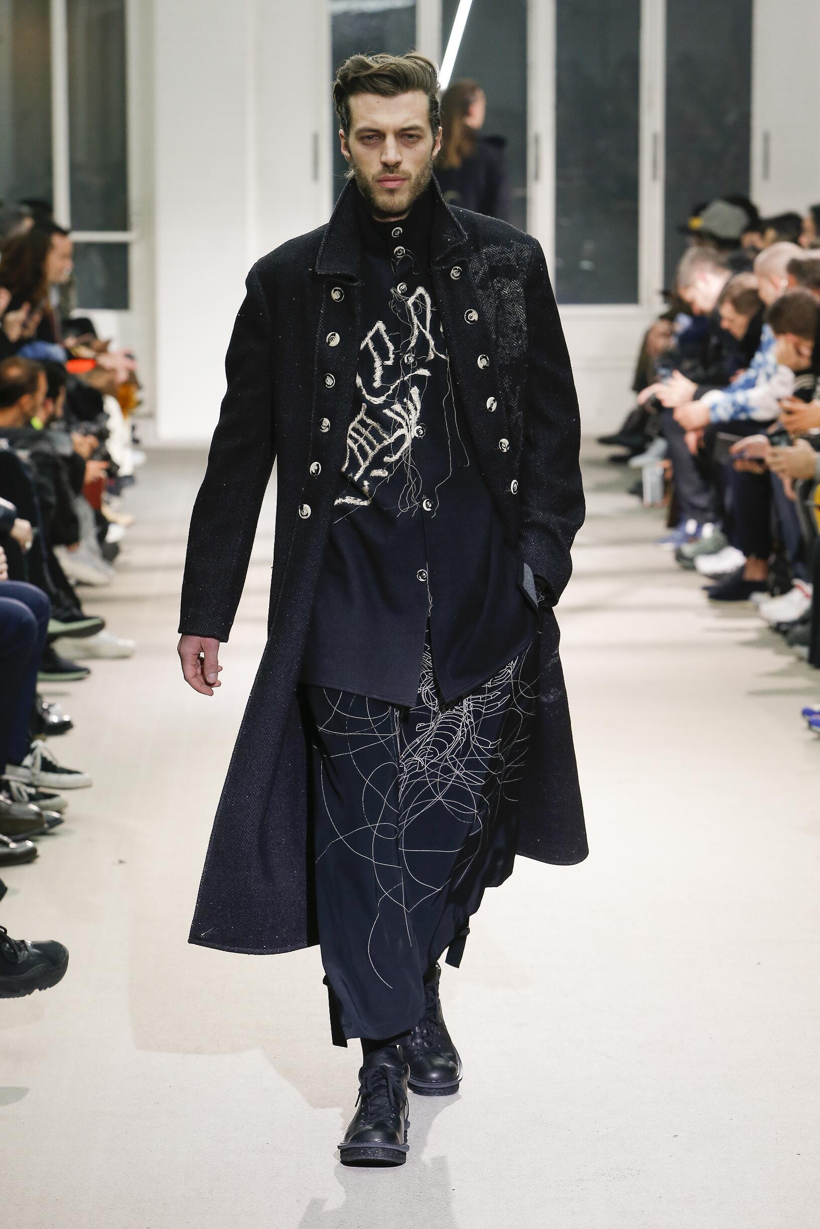 Fall 2019 Fashion Trends Yohji Yamamoto