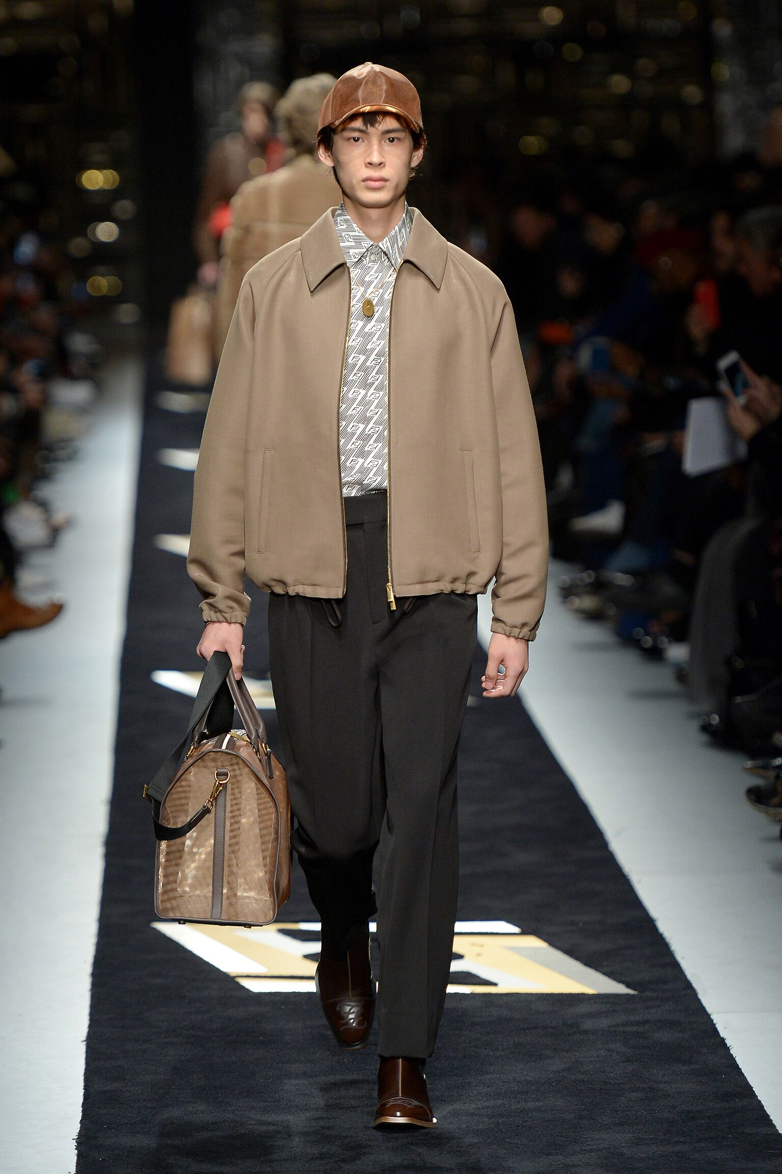 Fall 2019 Menswear Fendi