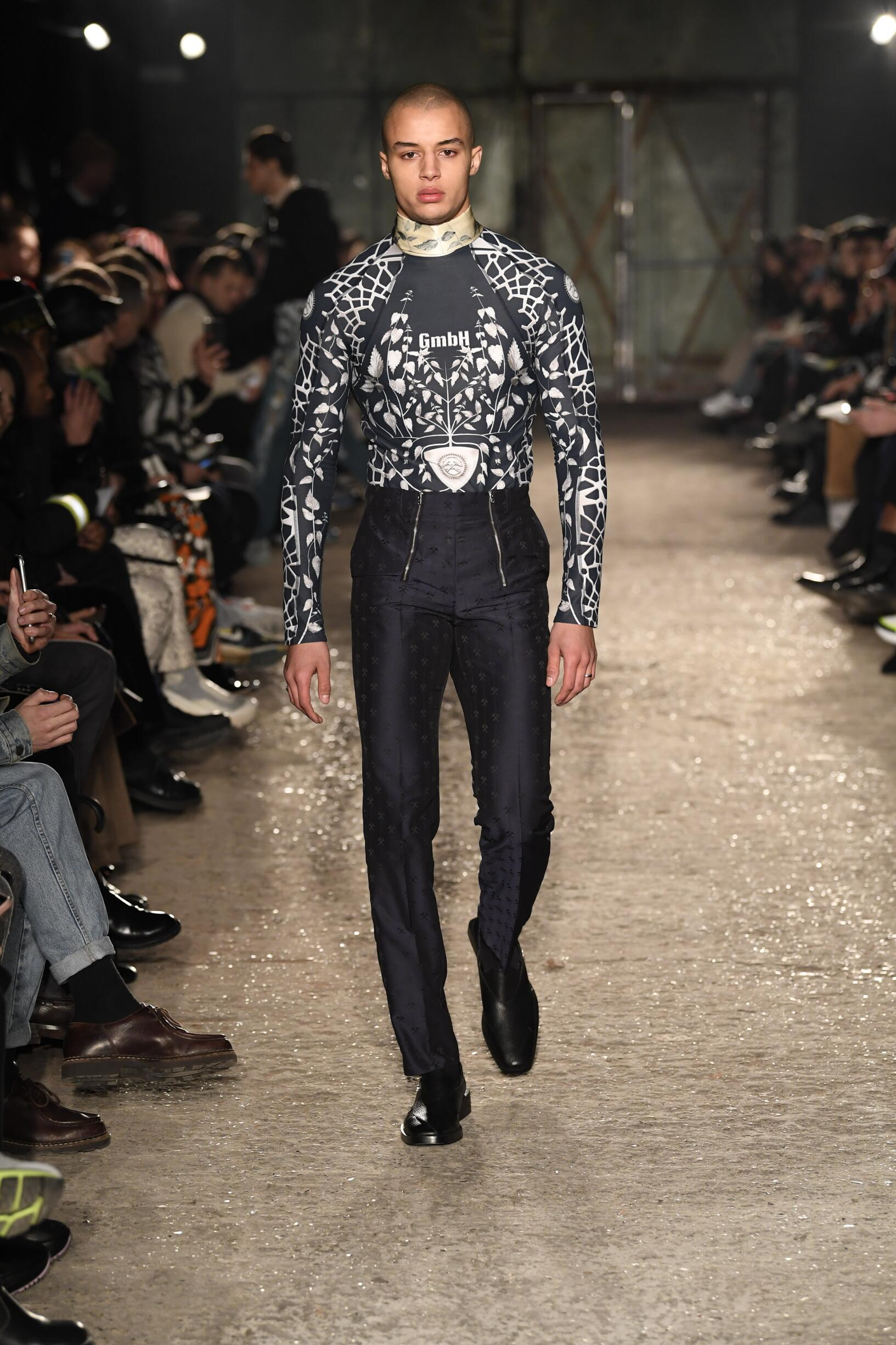 Fall 2019 Menswear GMBH