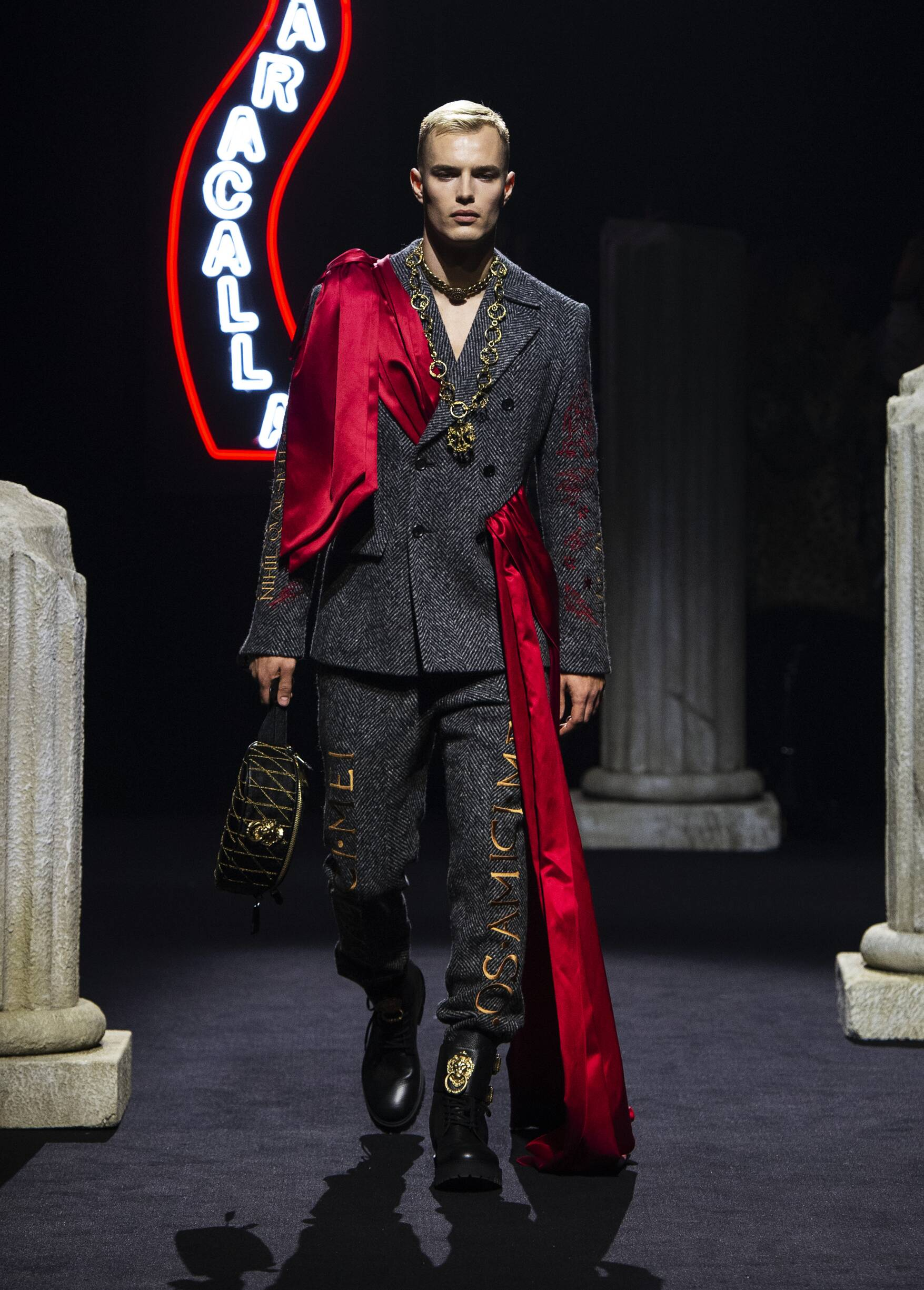 Fall 2019 Menswear Moschino