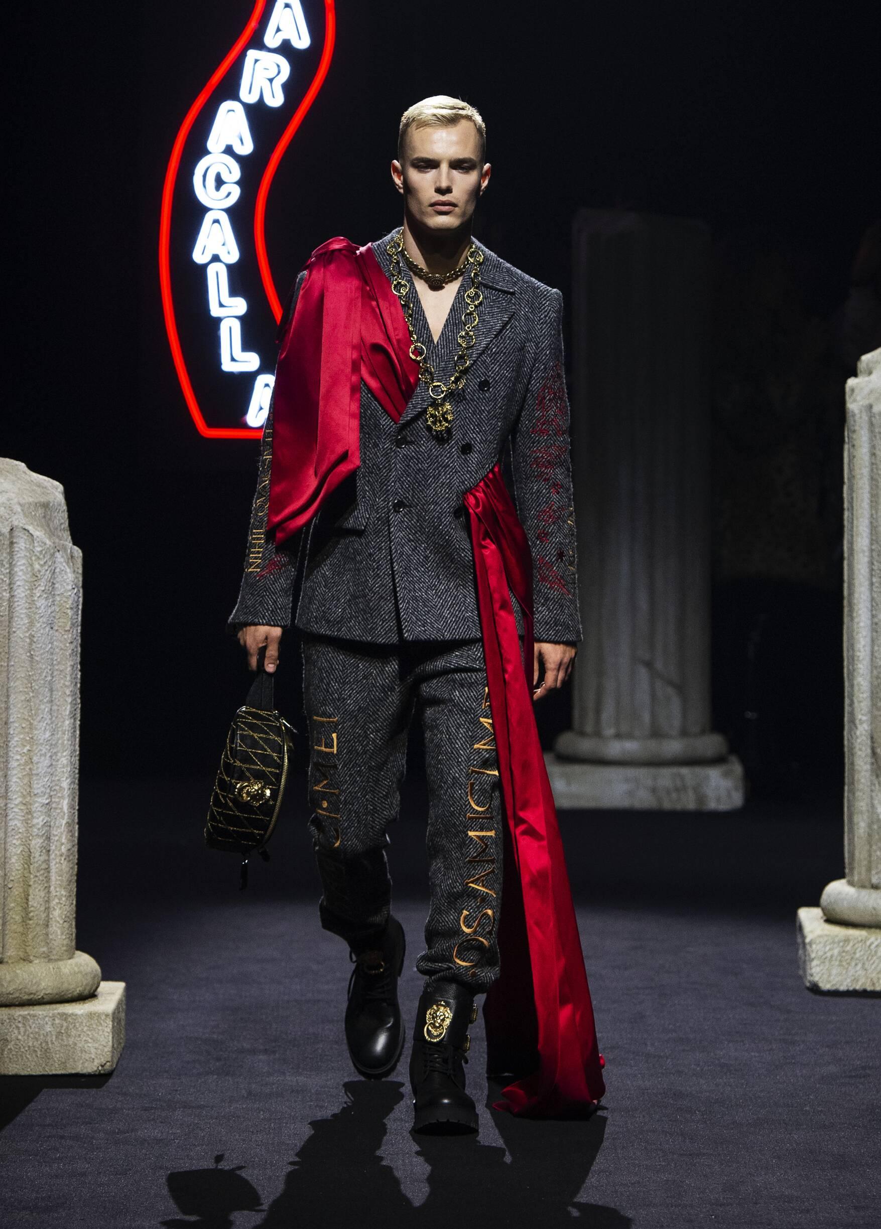 Fall 2019 Menswear Moschino