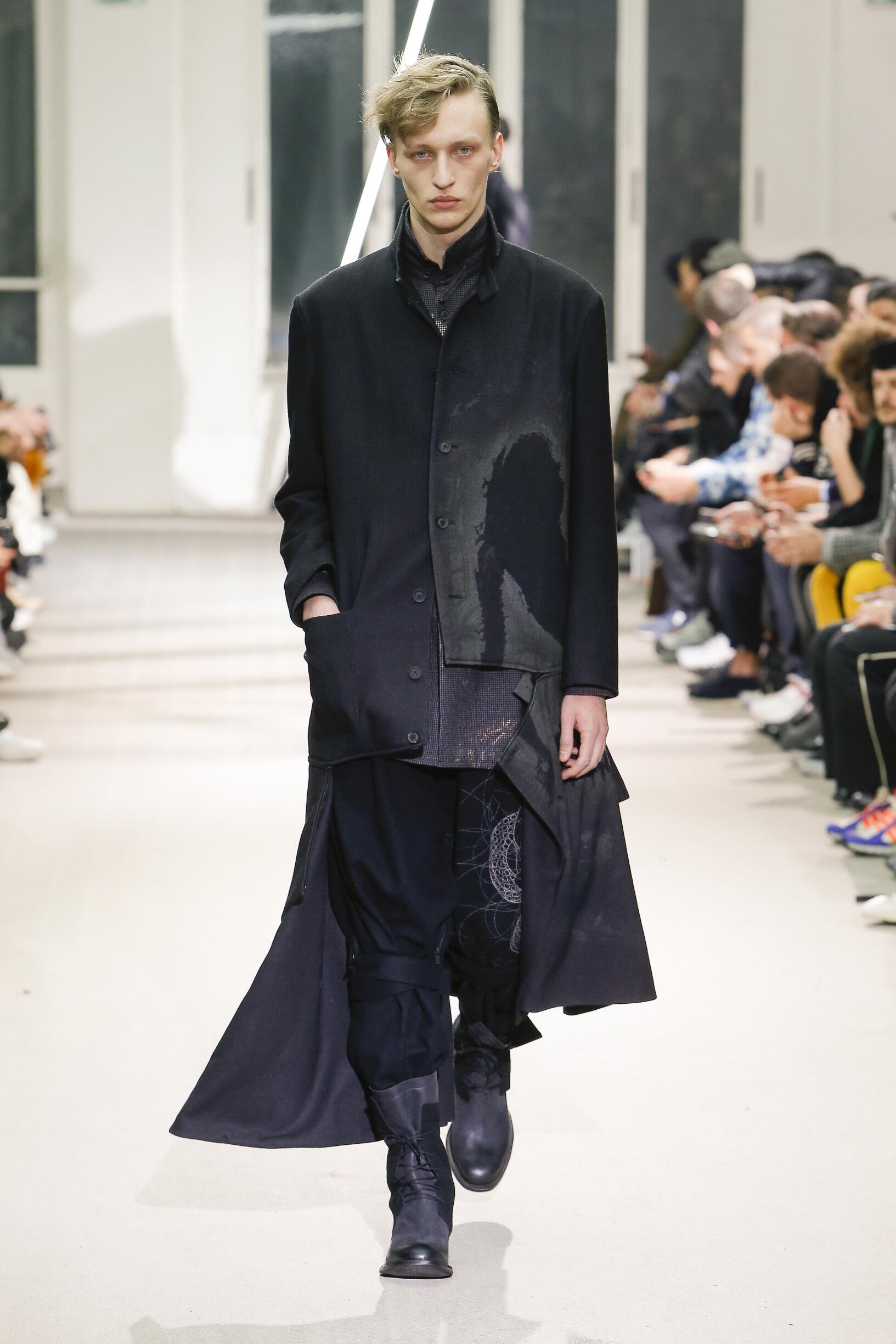 Fall 2019 Menswear Yohji Yamamoto