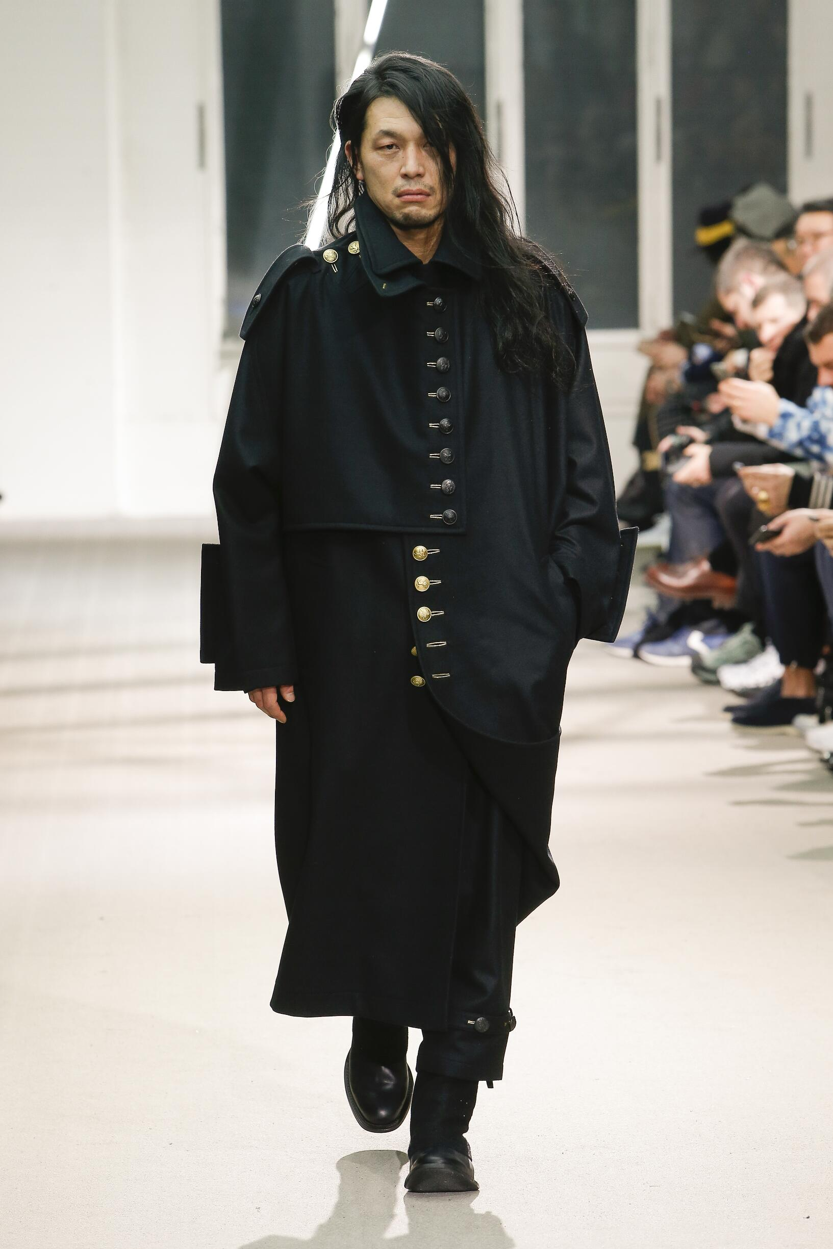 Fall Fashion 2019 Yohji Yamamoto