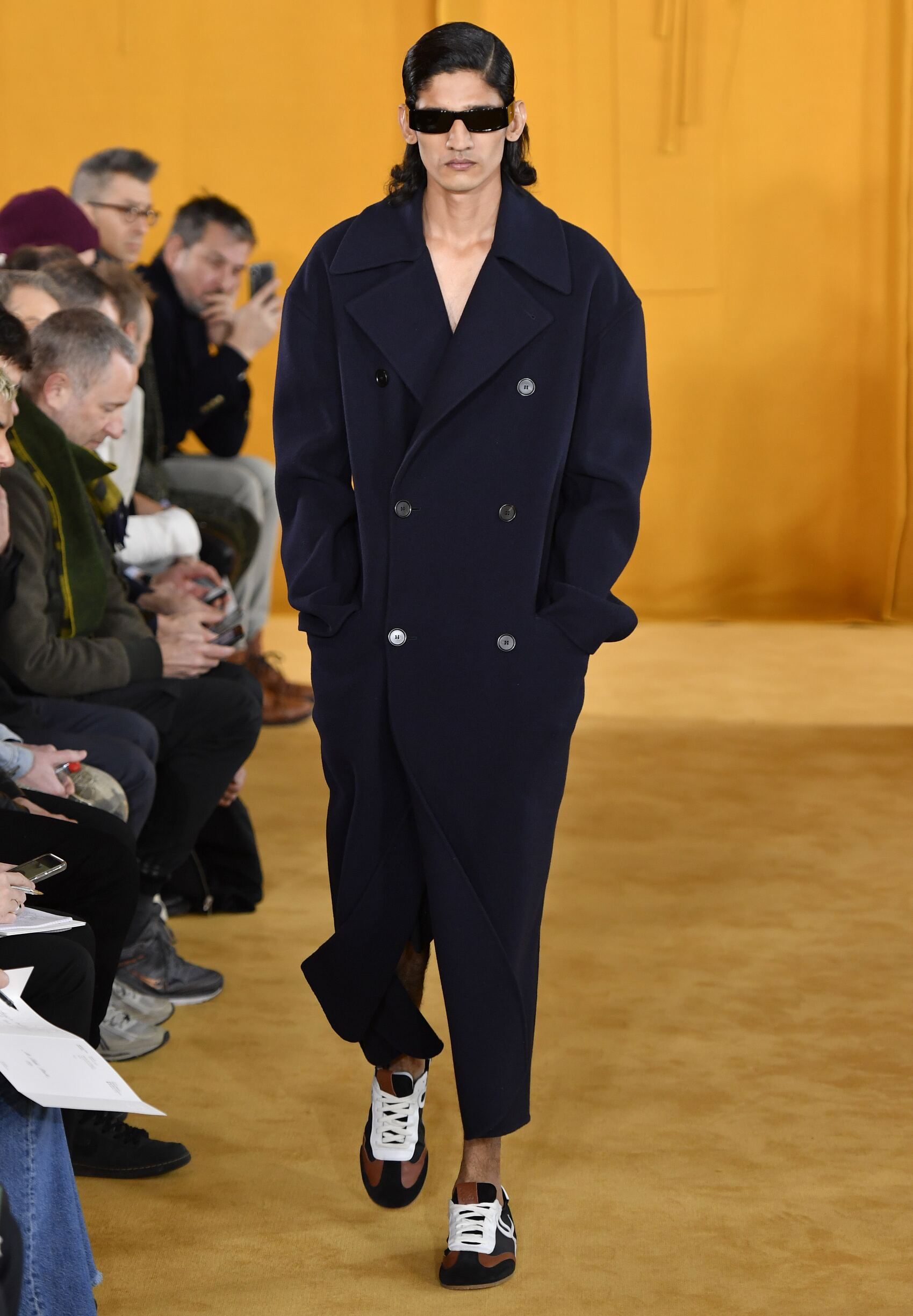 Fashion 2019 Runway Man Loewe Winter