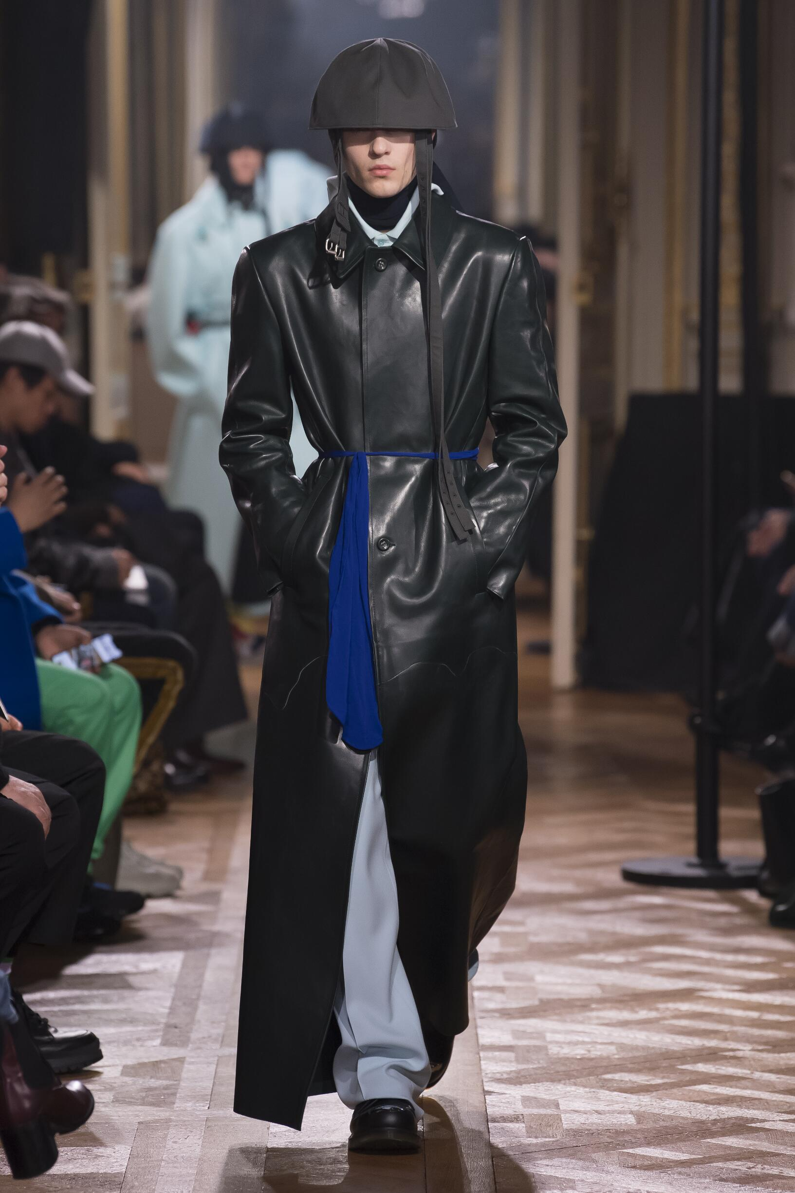 Fashion 2019 Runway Man Raf Simons Winter