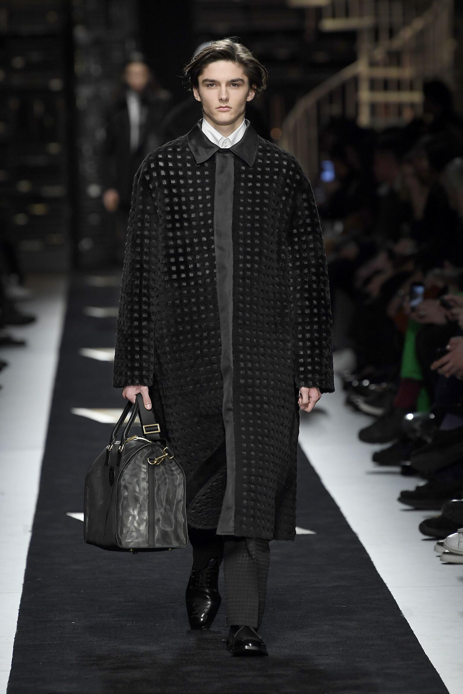 Fendi Menswear Collection Trends