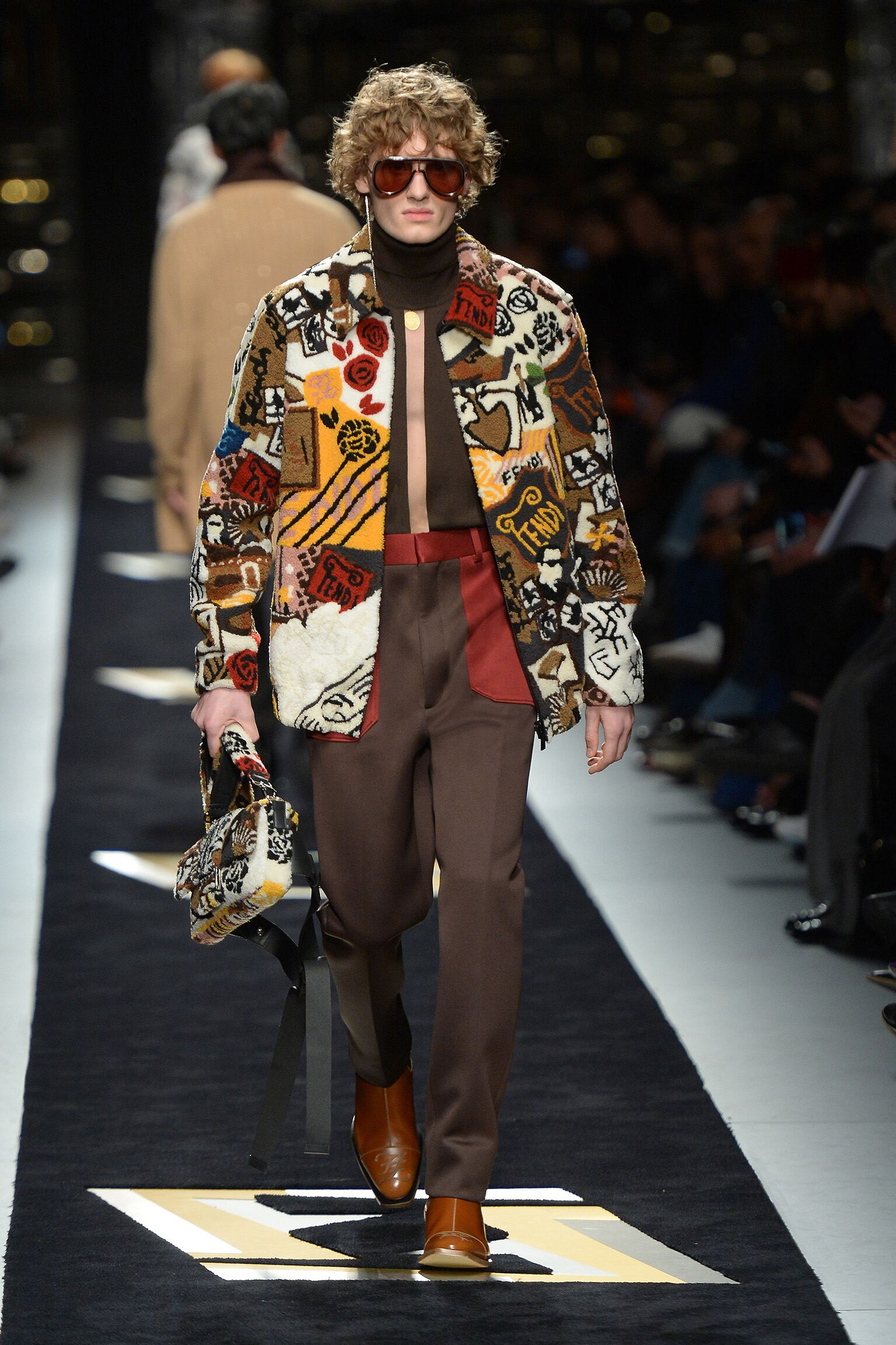 Fendi Menswear Fashion Show