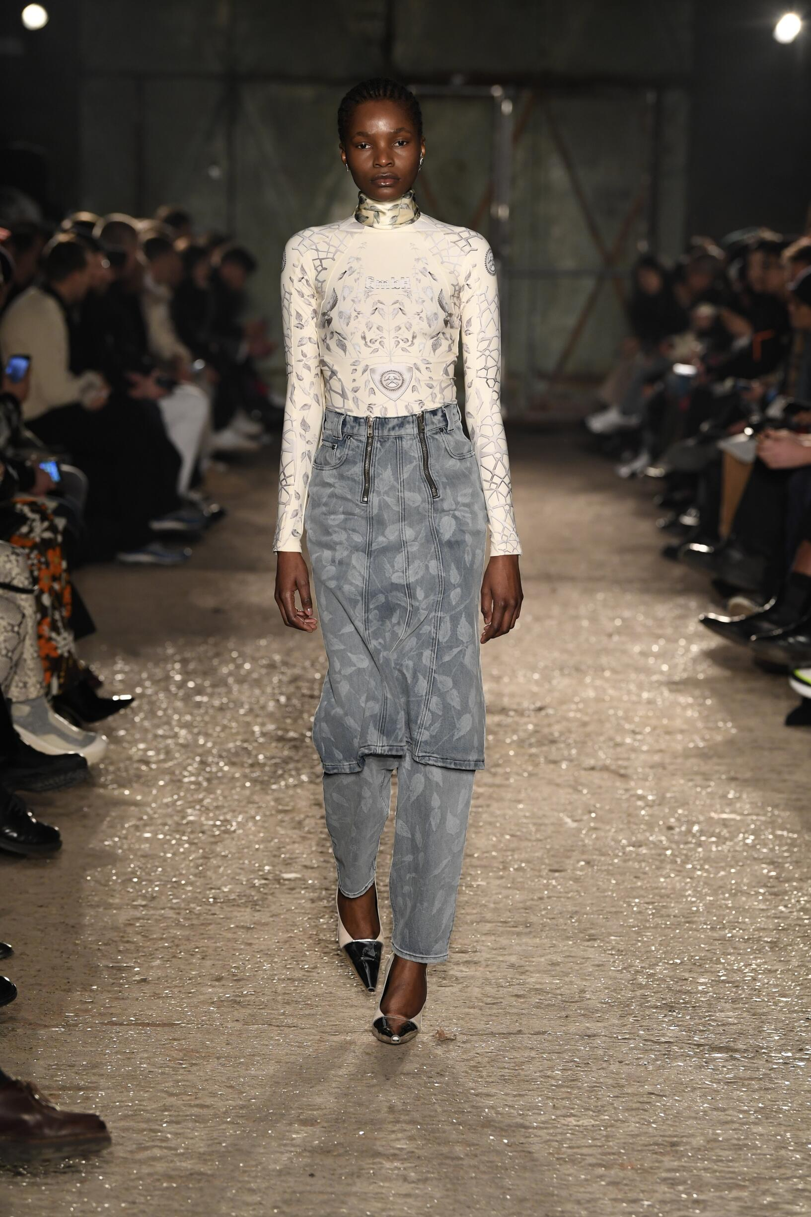 GMBH Paris Fashion Week Womenswear Trends