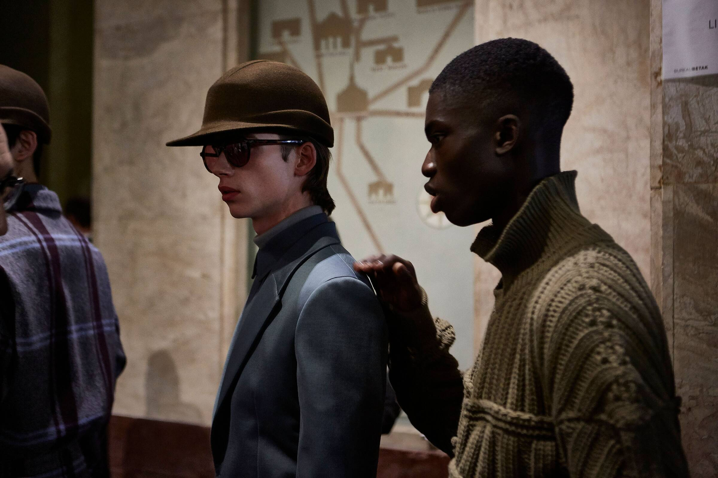 Men Models 2019 Backstage Ermenegildo Zegna