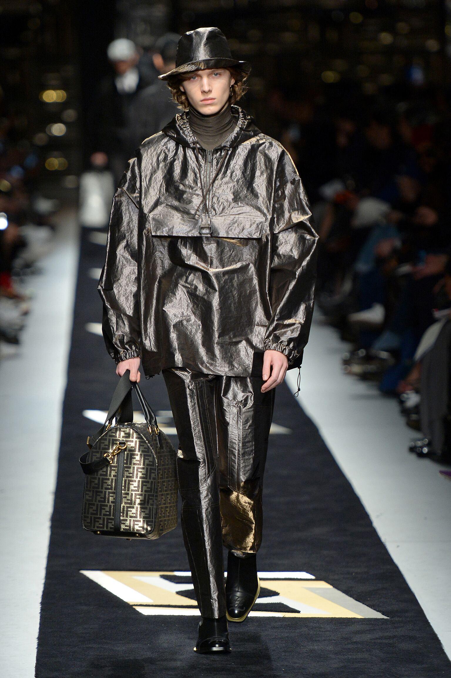 Menswear Fall Winter Fendi 2019 Trends