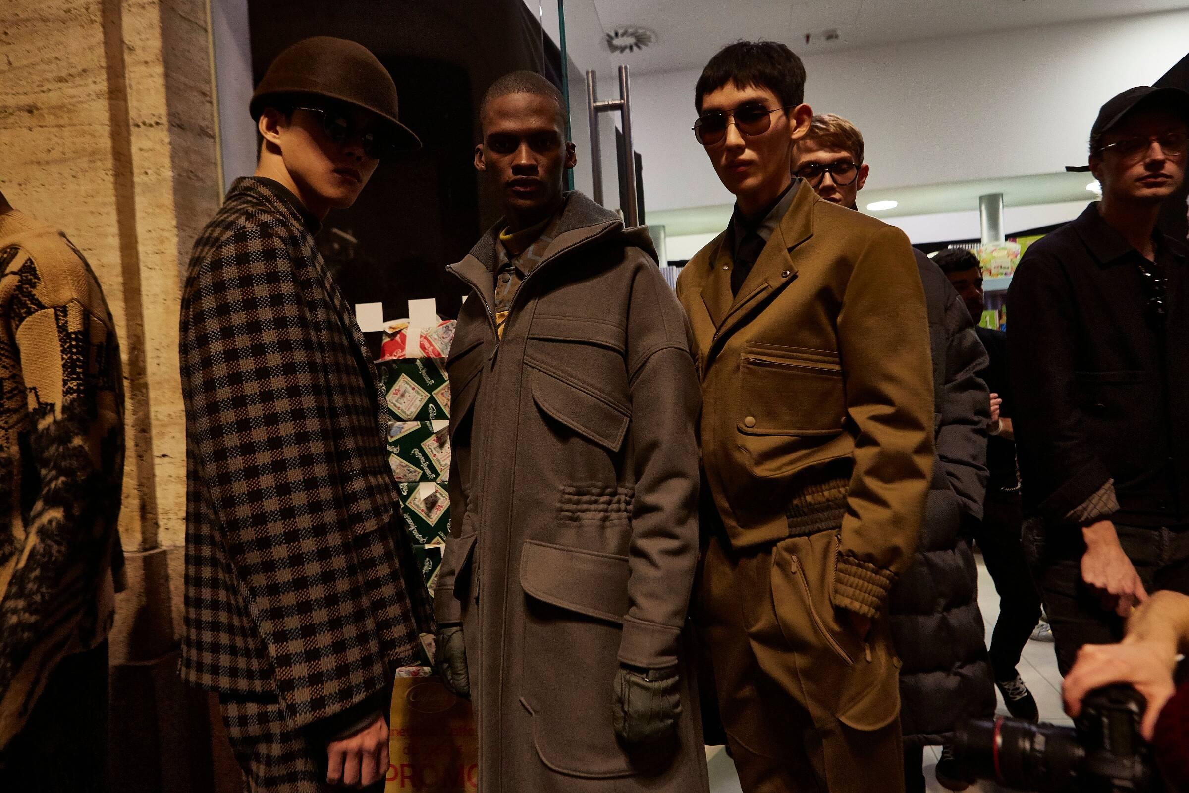 Menswear Trends Backstage Ermenegildo Zegna