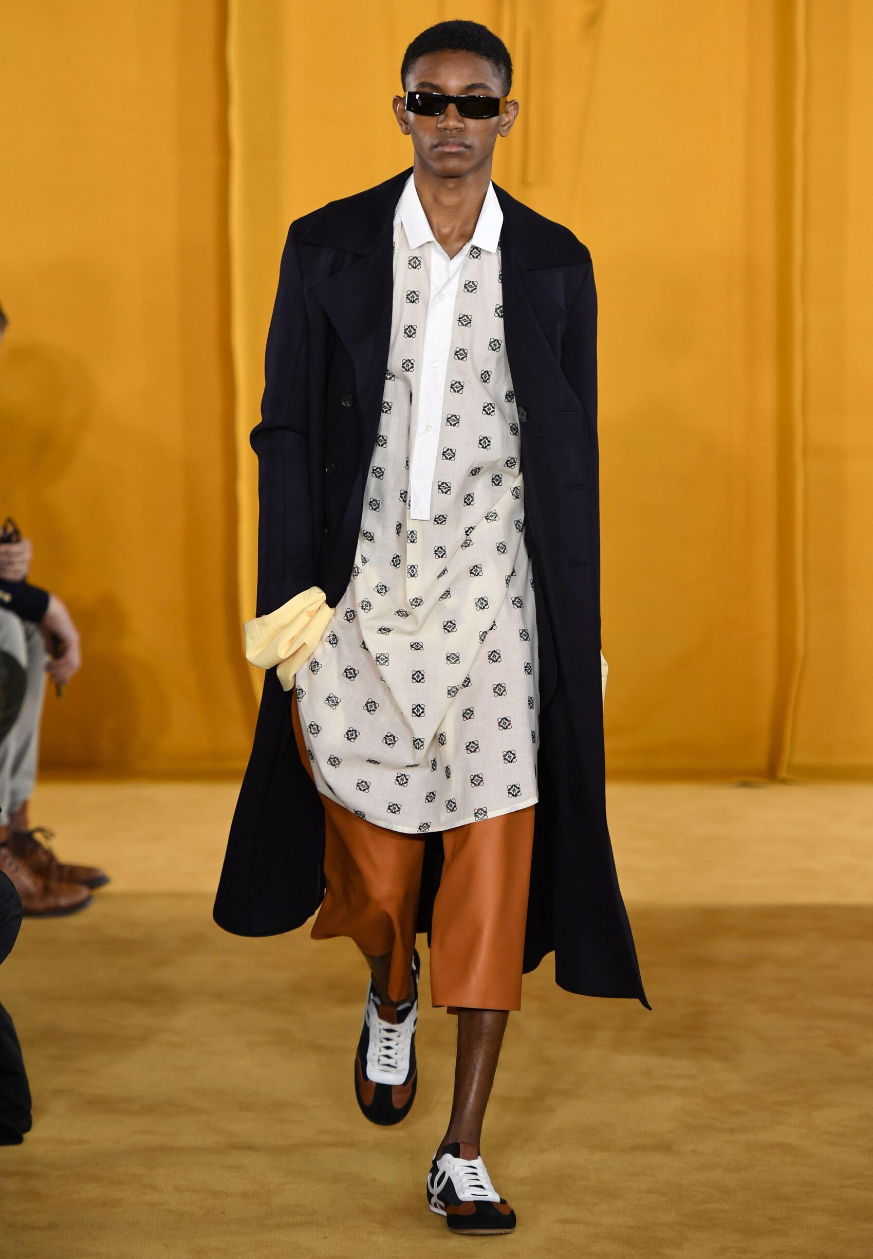 Menswear Winter Loewe 2019