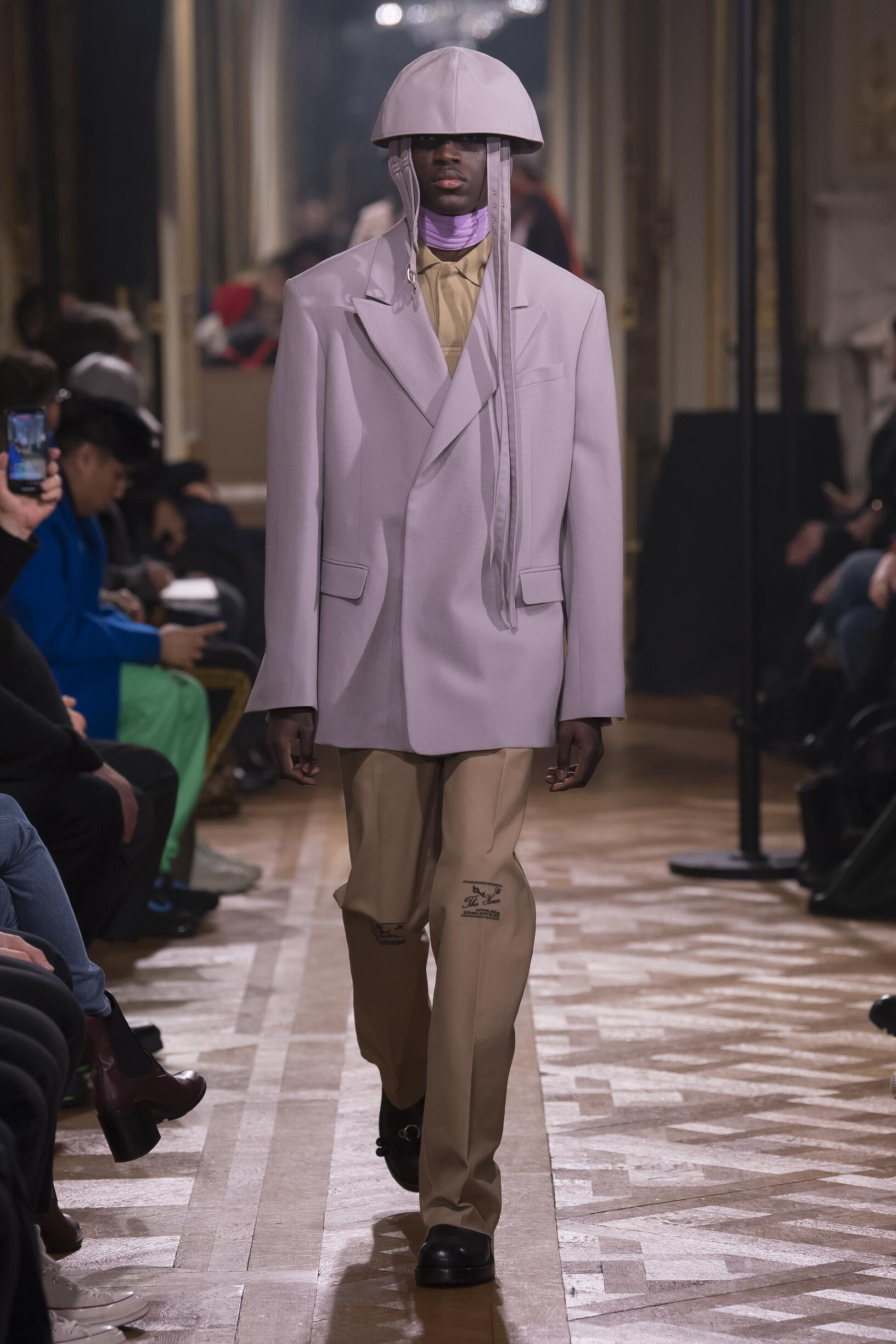Menswear Winter Raf Simons 2019