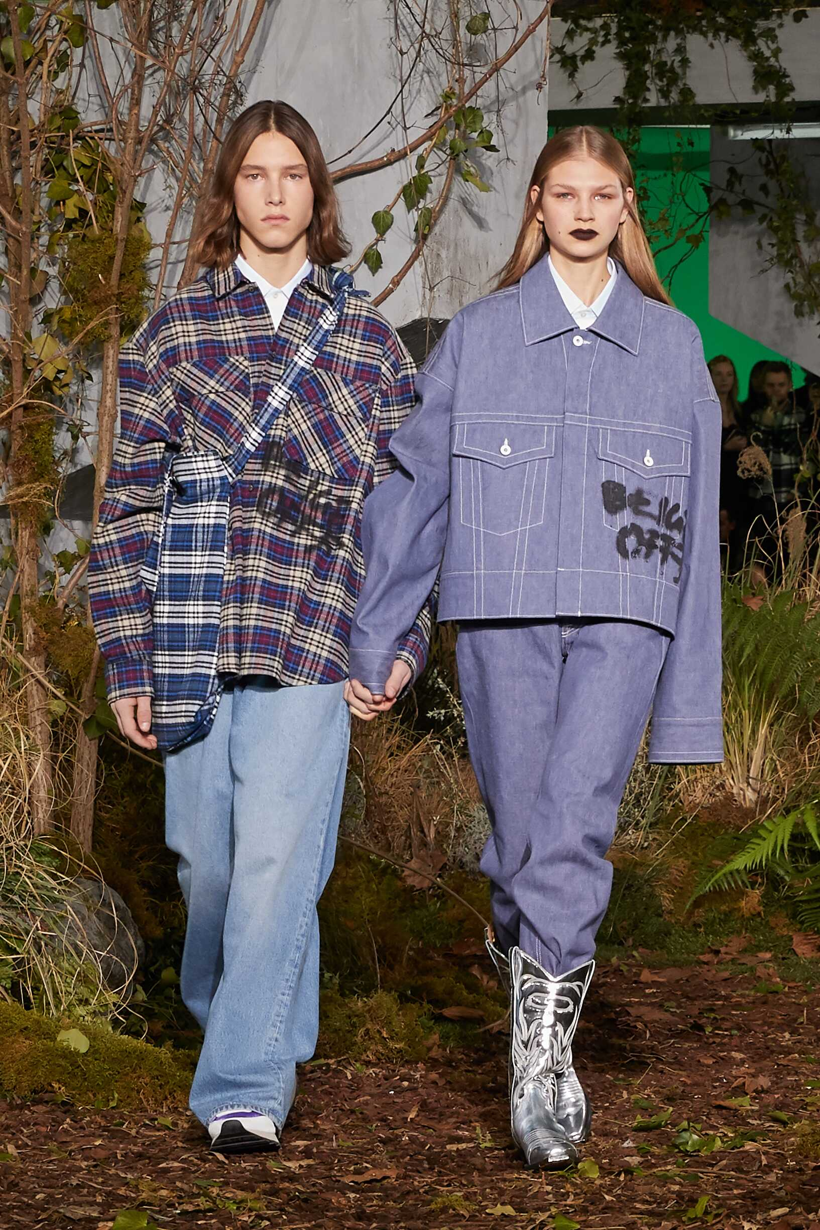 Models FW 2019 Off White c/o Virgil Abloh