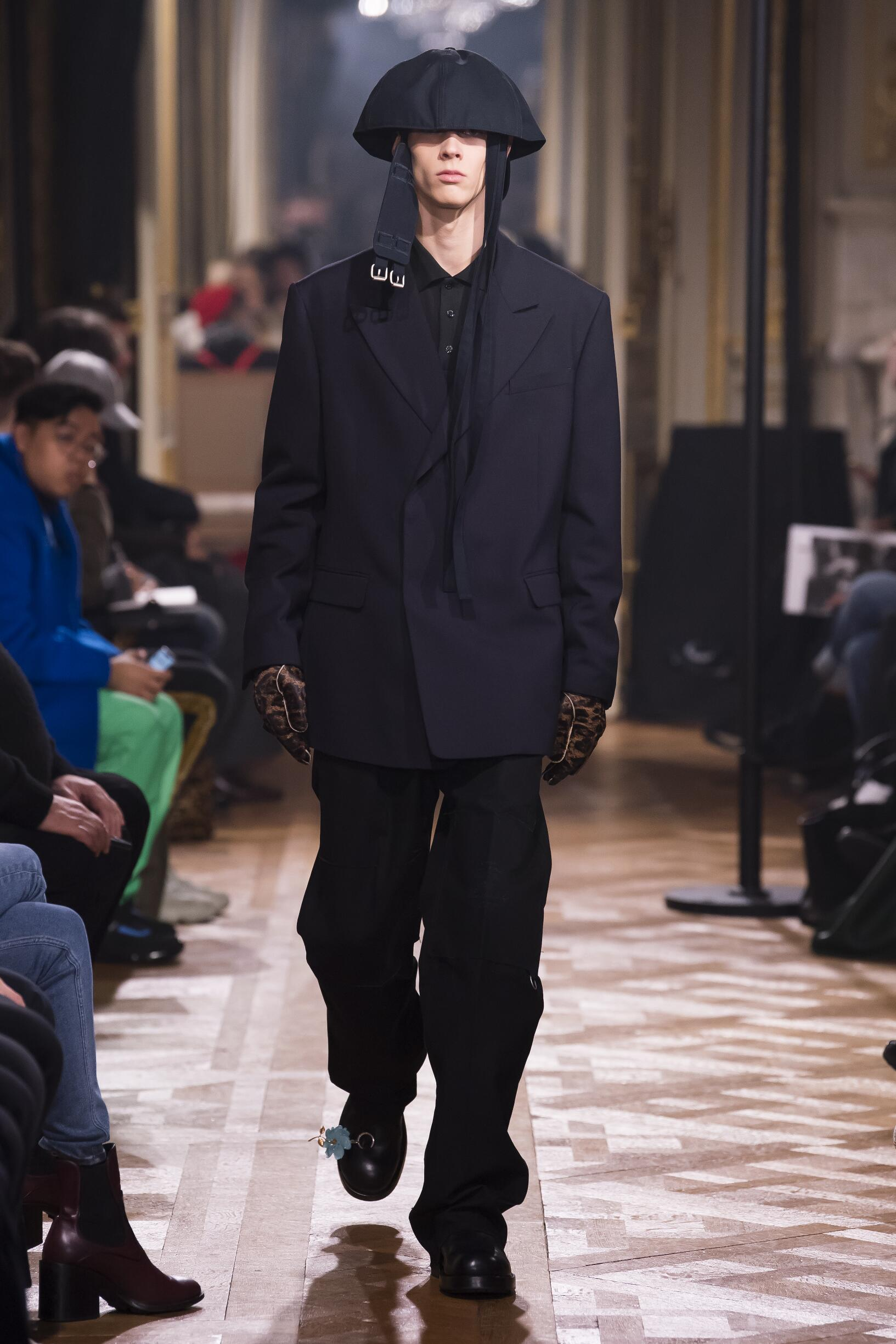 Raf Simons Paris Fashion Week Menswear Trends