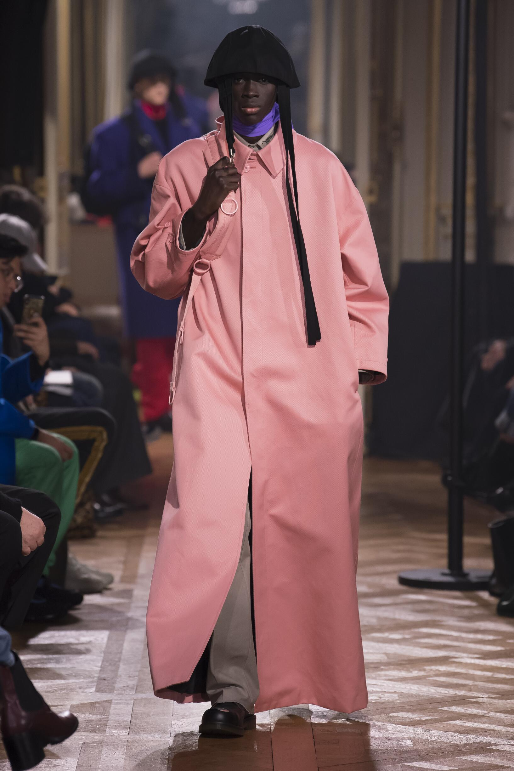 Raf Simons Winter 2019 Catwalk