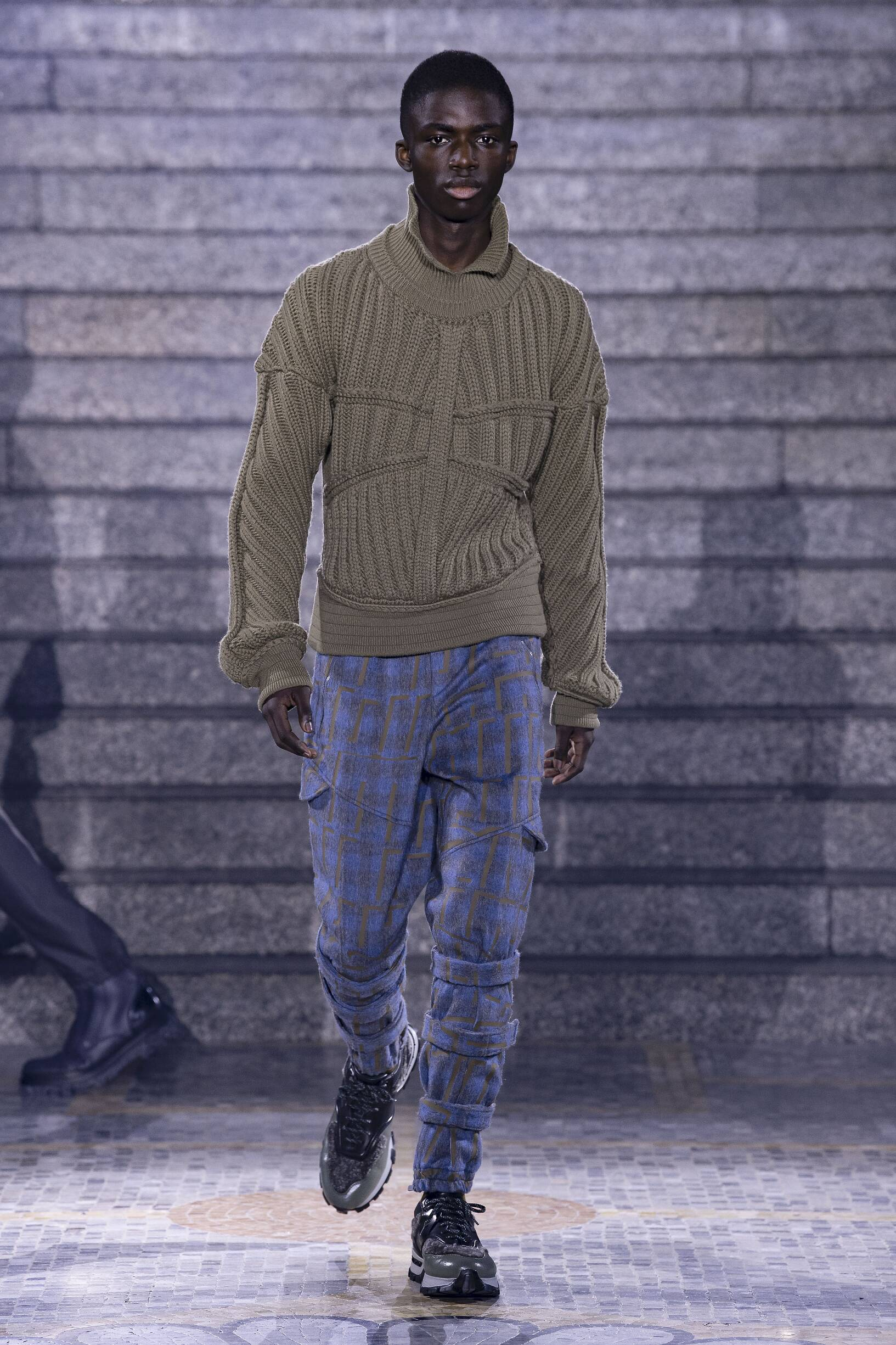 Runway Ermenegildo Zegna Fall Winter 2019 Men's Collection Milan Fashion Week