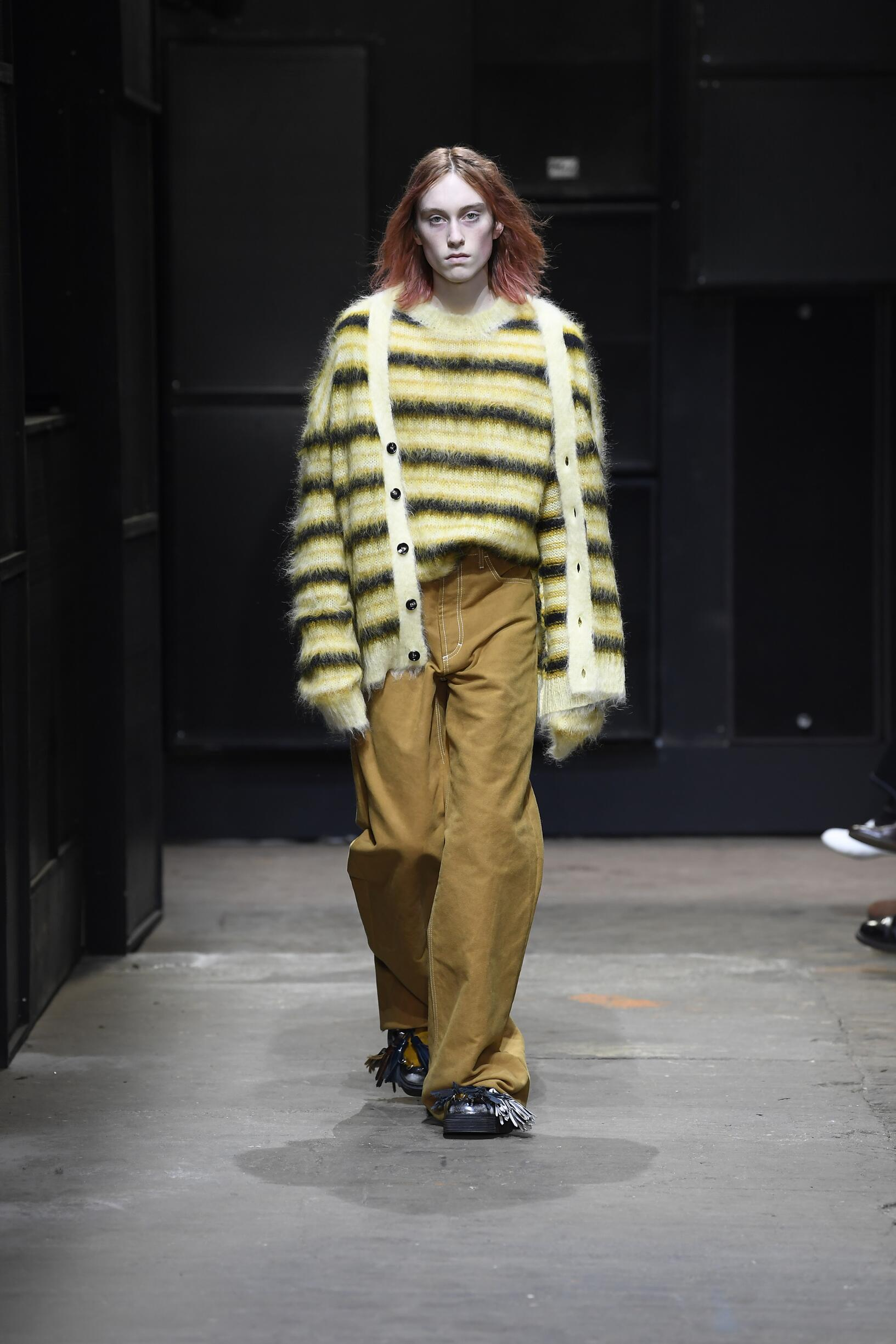 Runway Marni Fall Winter 2019 Collection Milan Fashion Week