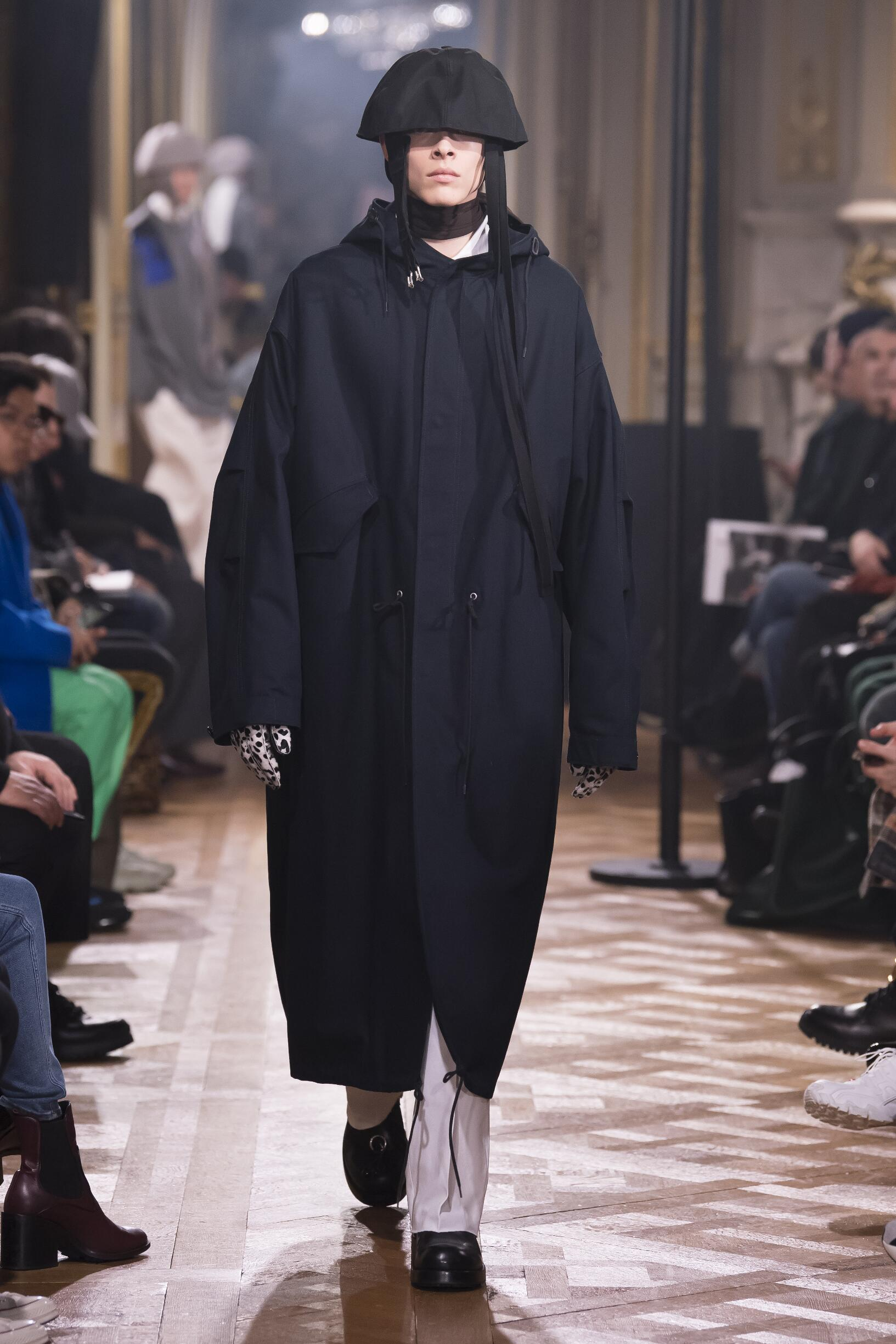 Winter 2019 Man Trends Raf Simons