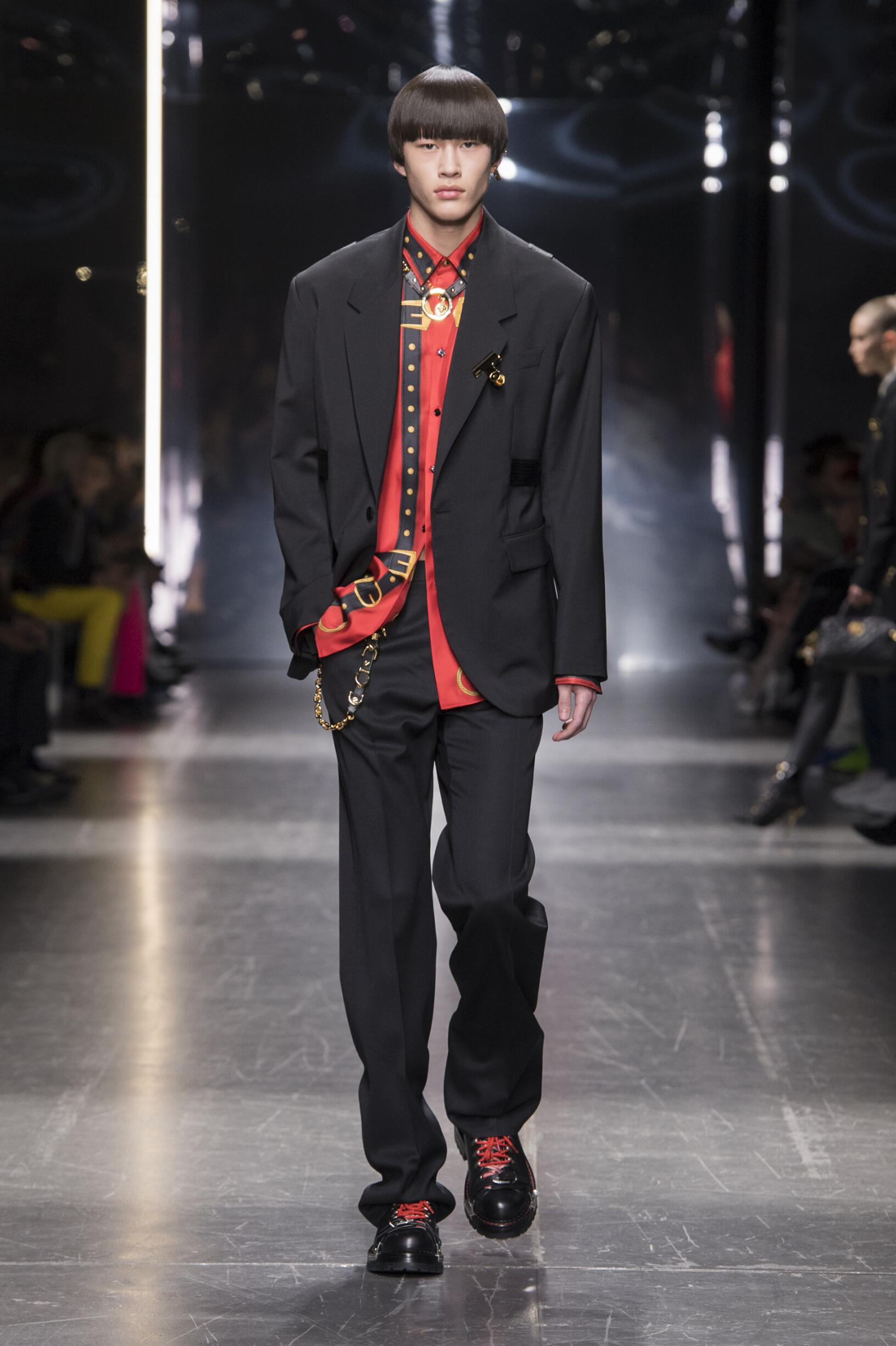 Winter 2019 Man Trends Versace