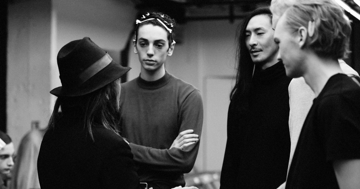 Backstage Yohji Yamamoto 2019 Paris