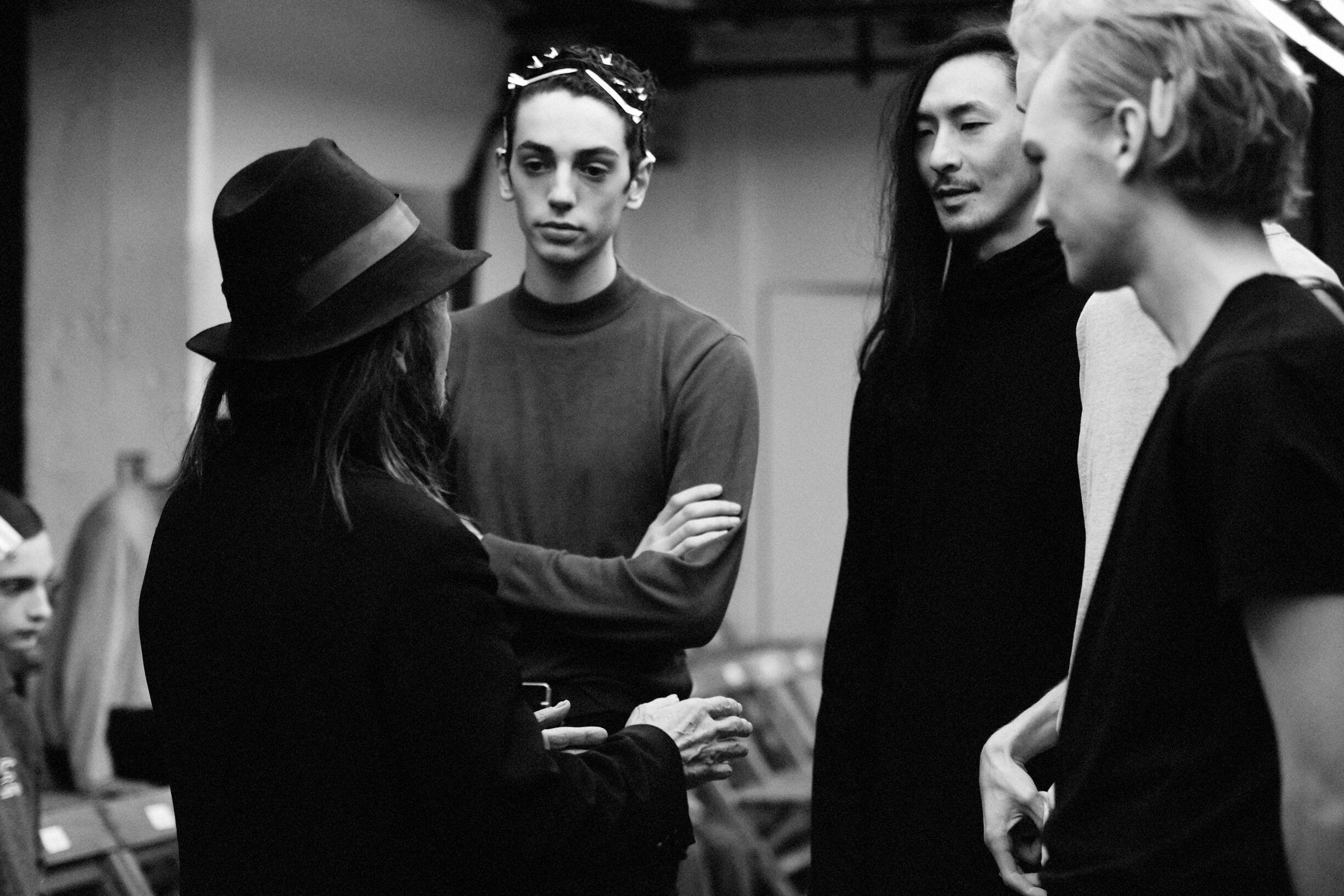 Yohji Yamamoto Backstage 2019