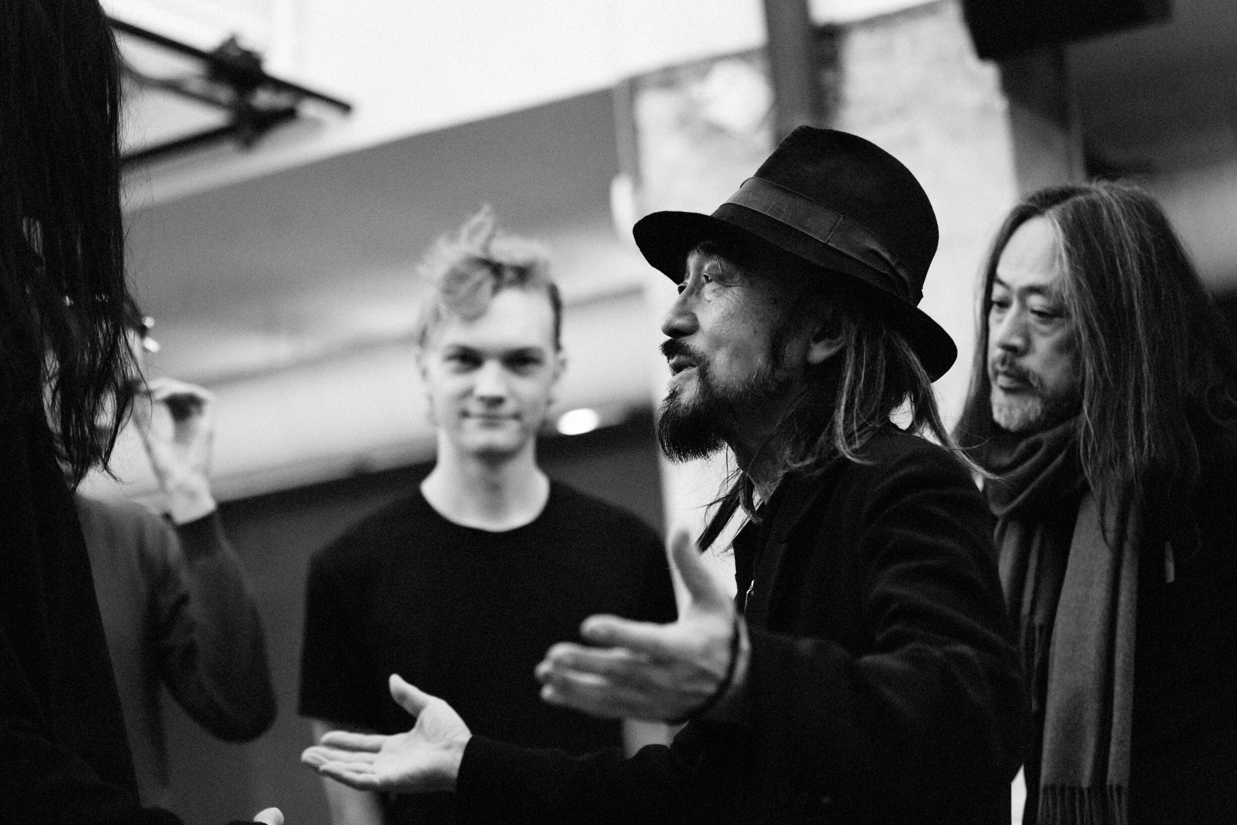 Yohji Yamamoto Backstage