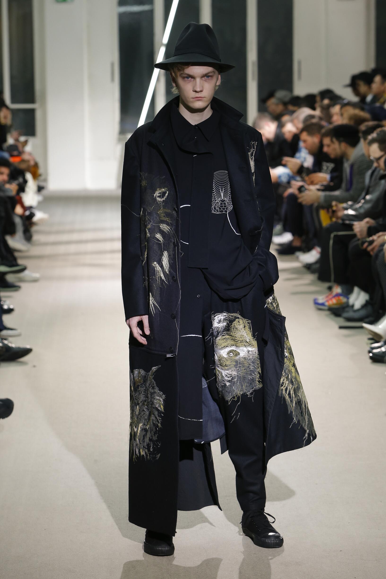 Yohji Yamamoto FW 2019 Menswear