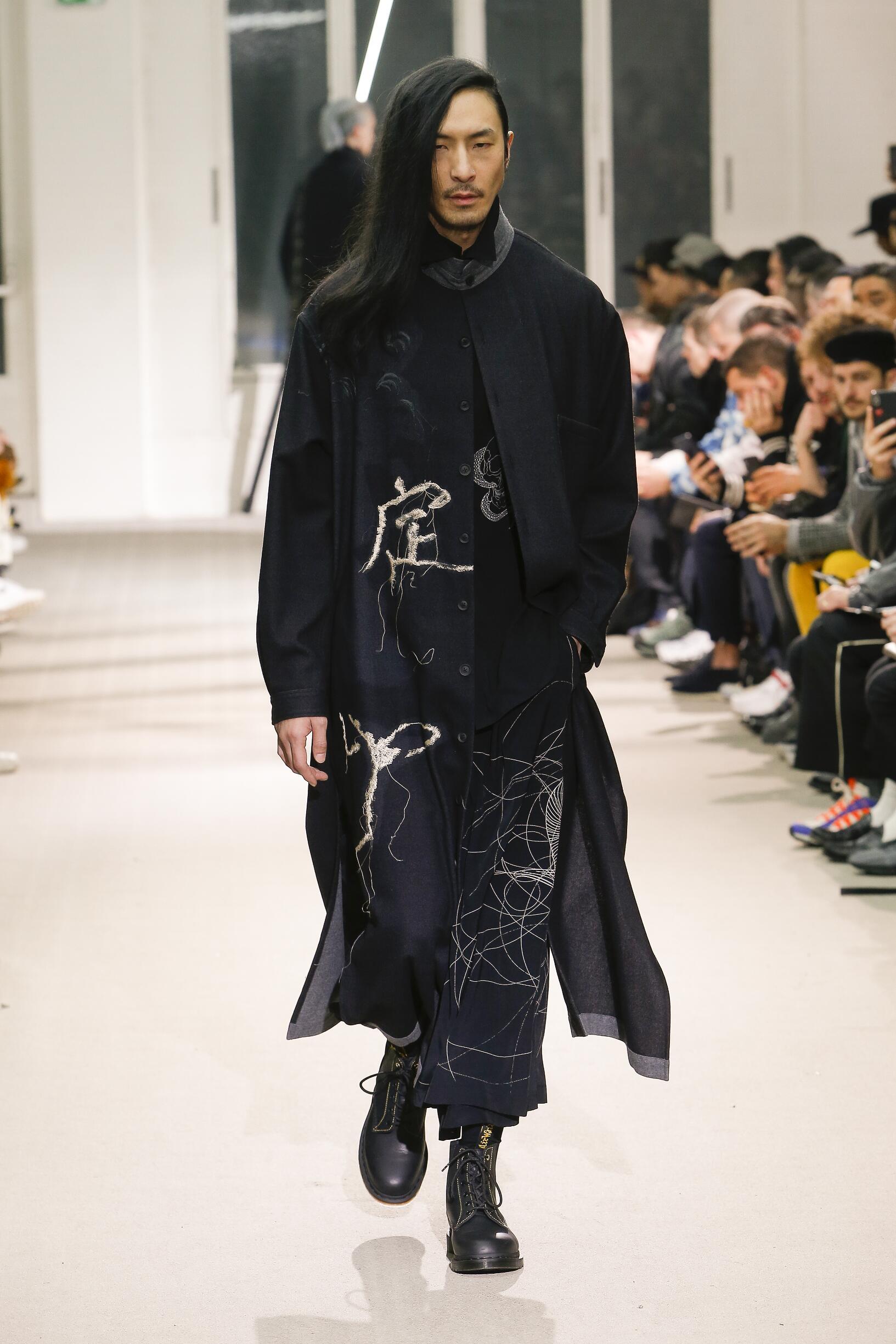 Yohji Yamamoto Men's Collection 2019-20