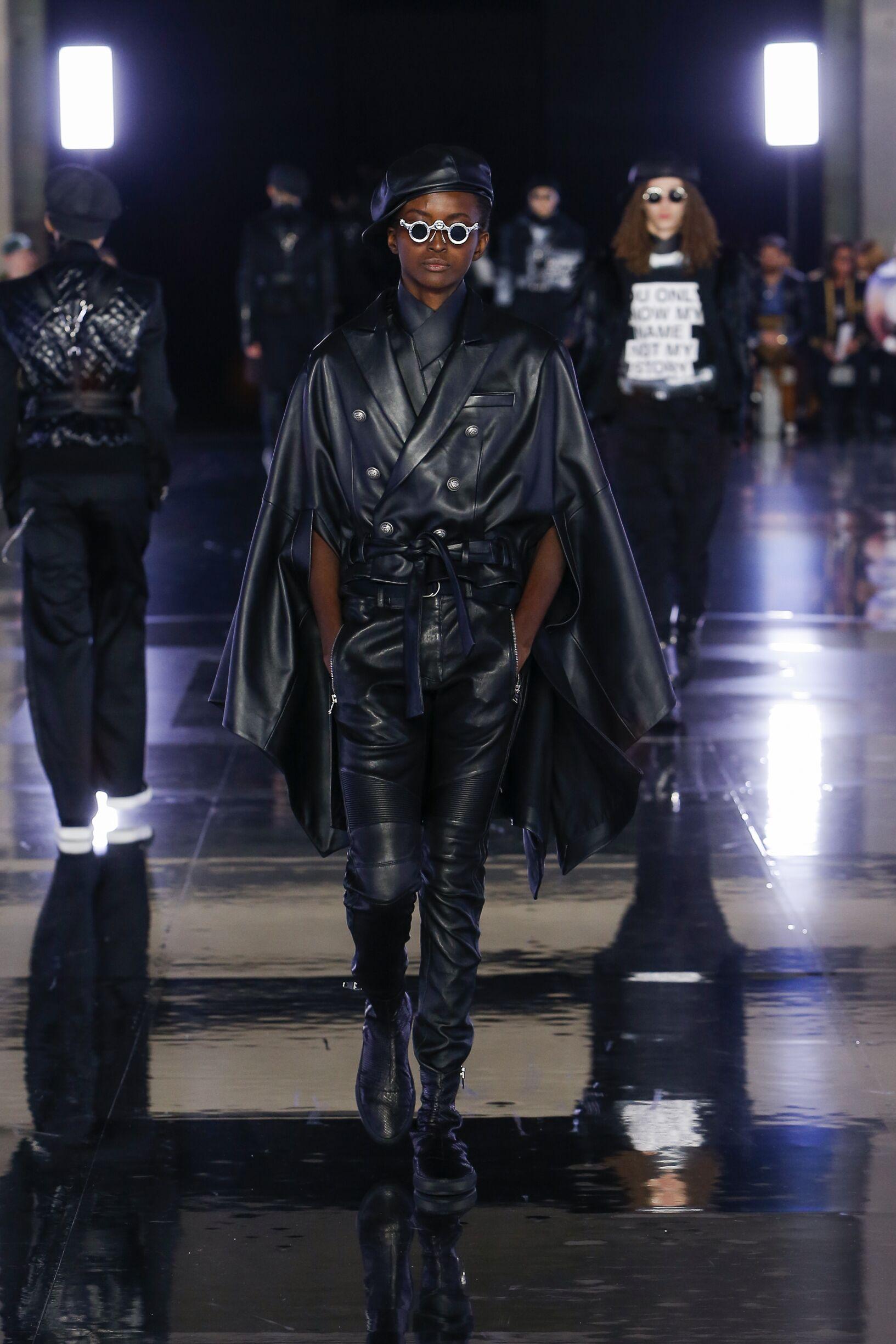 2019-20 Balmain Trends Paris Fashion Week