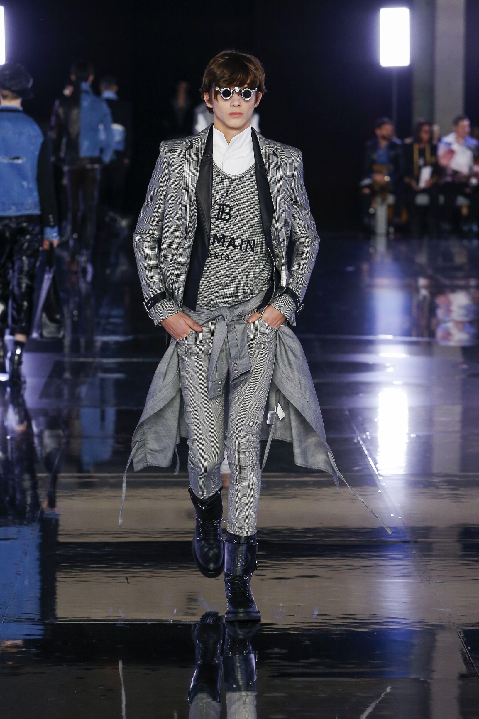 2019 Balmain Trends Paris Fashion