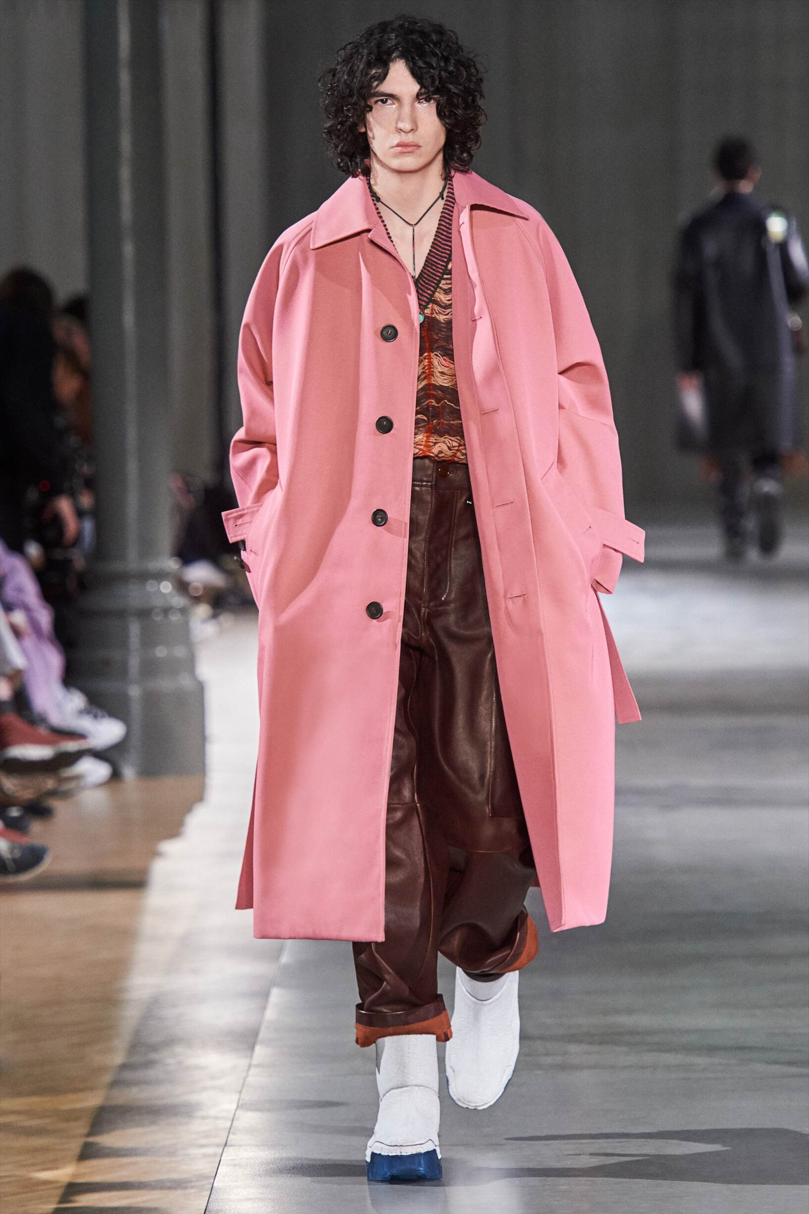 2019 Catwalk Acne Studios Man Fashion Show Winter